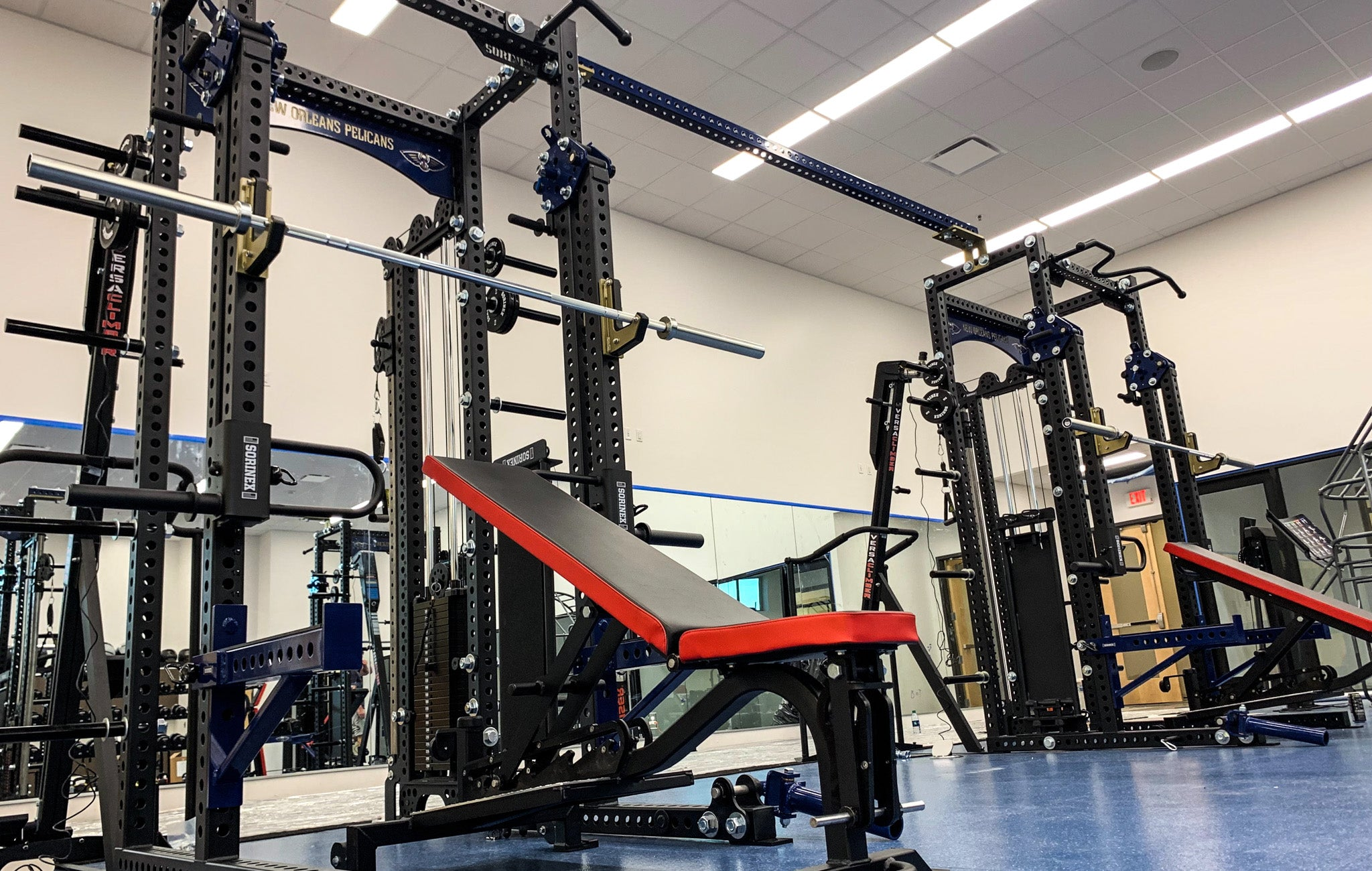 New Orleans Pelicans Weight Room