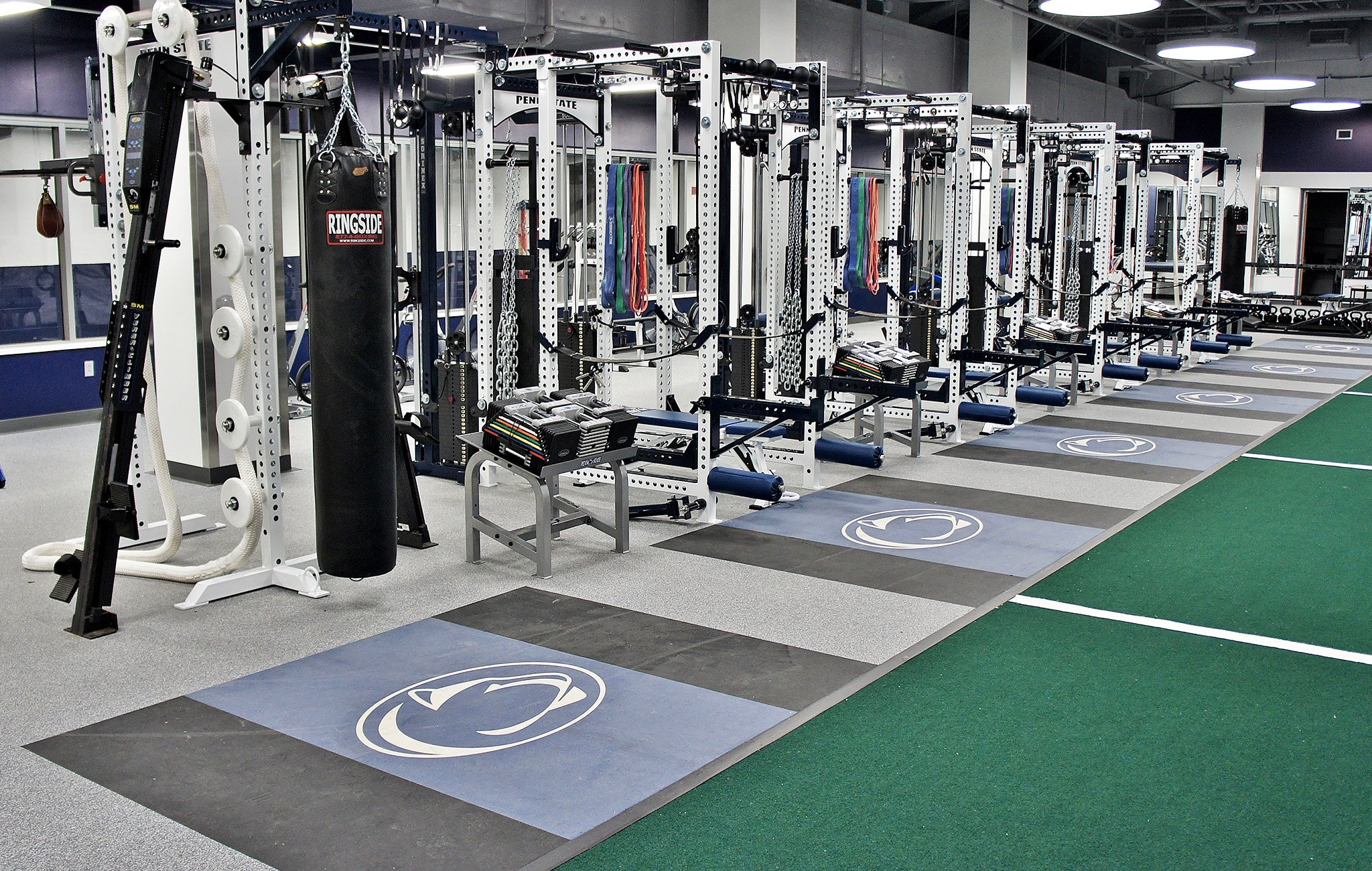 Penn State Hockey Weight Room