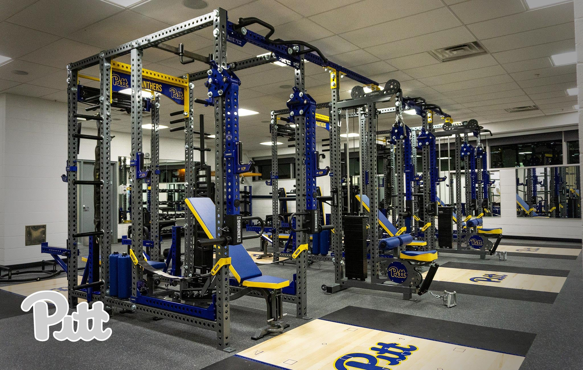 University of Pittsburgh Sorinex strength and conditioning facility