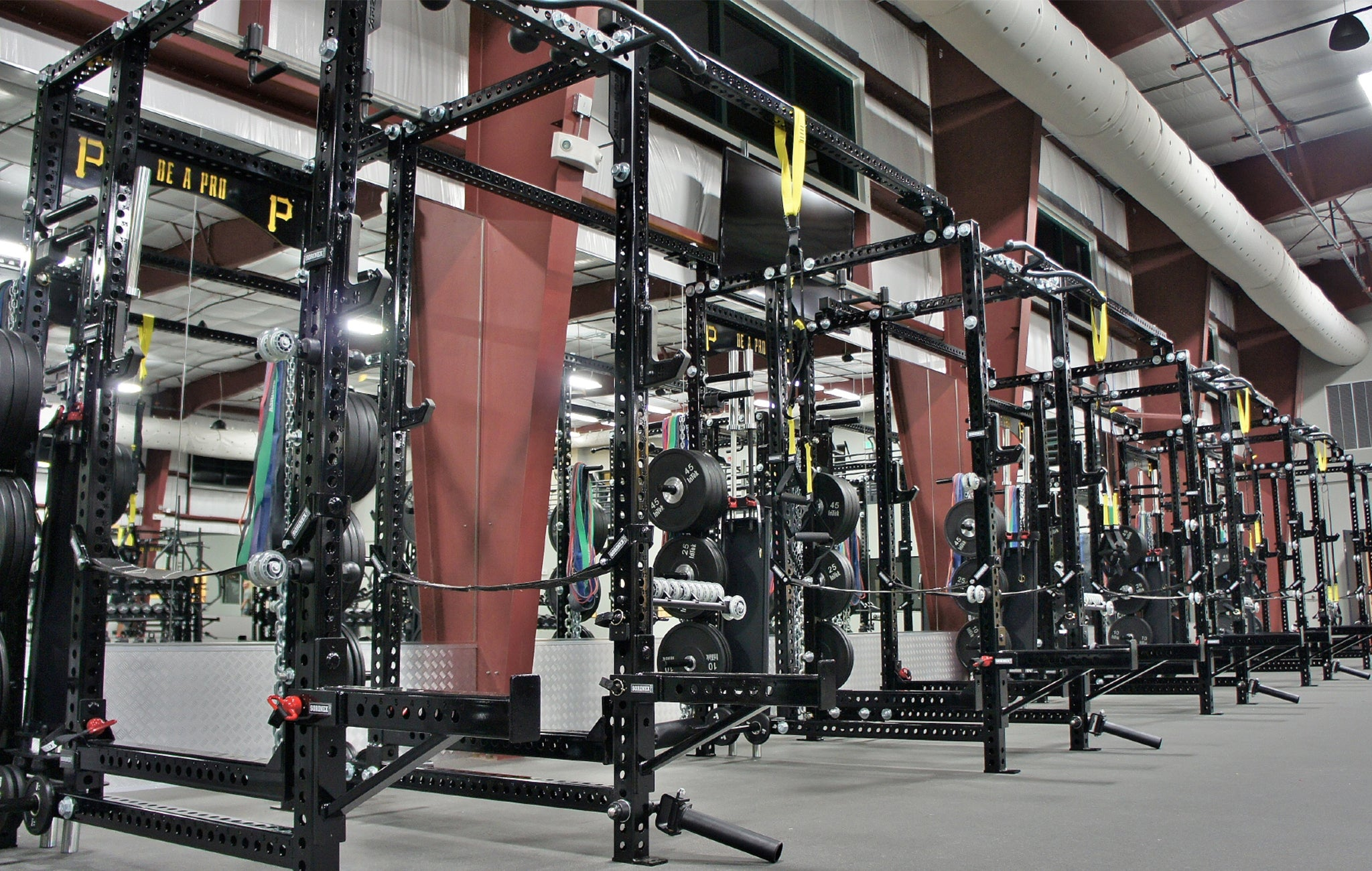 Pittsburgh Pirates Weight Room