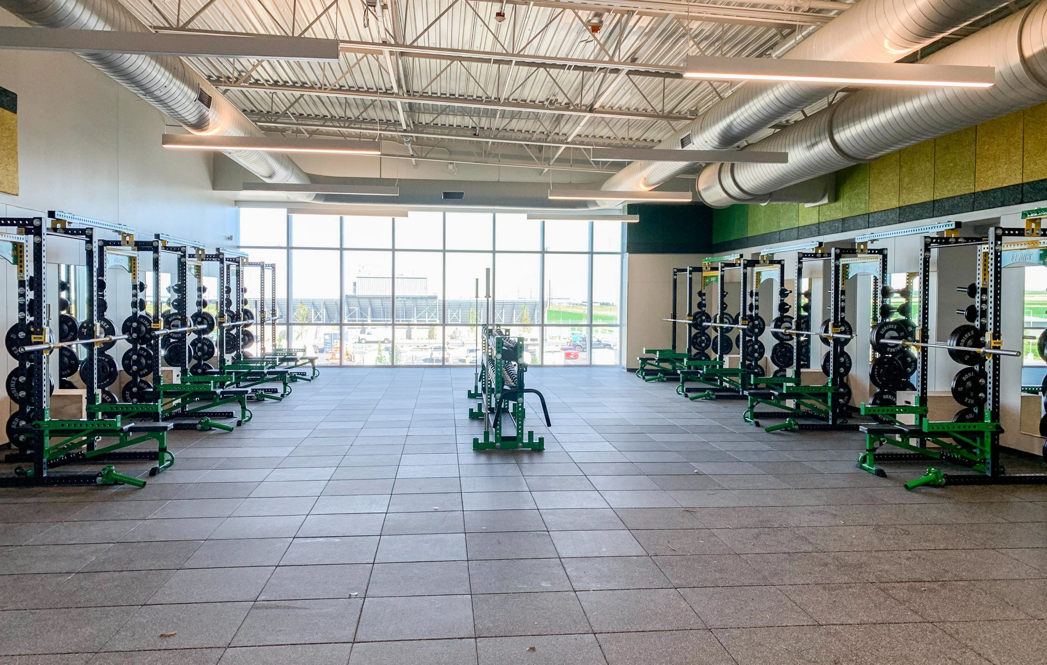 Quincy High School strength and conditioning