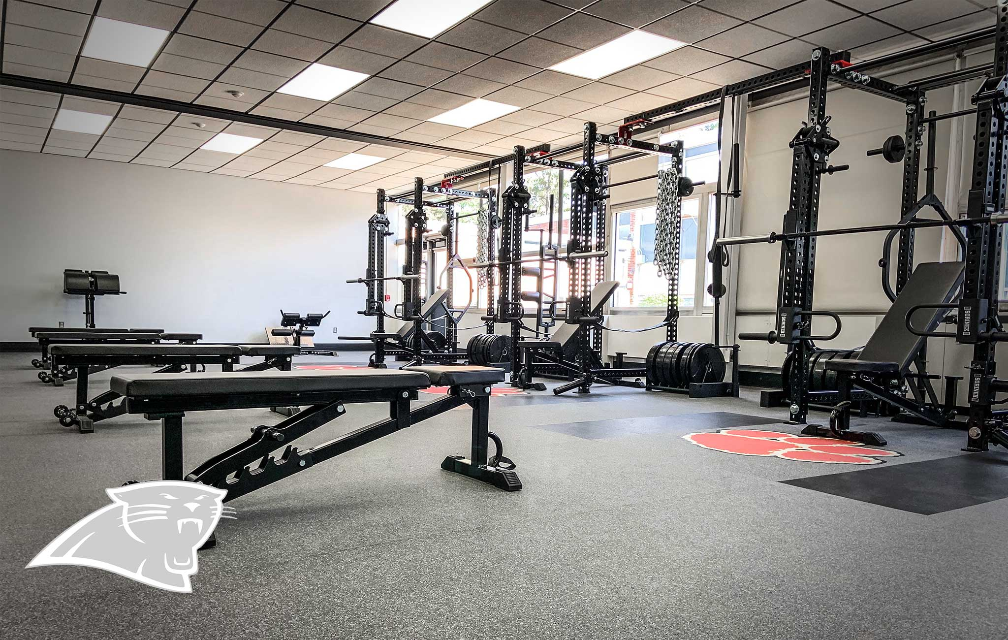 ROSELLE PARK HIGH SCHOOL Sorinex strength and conditioning facility