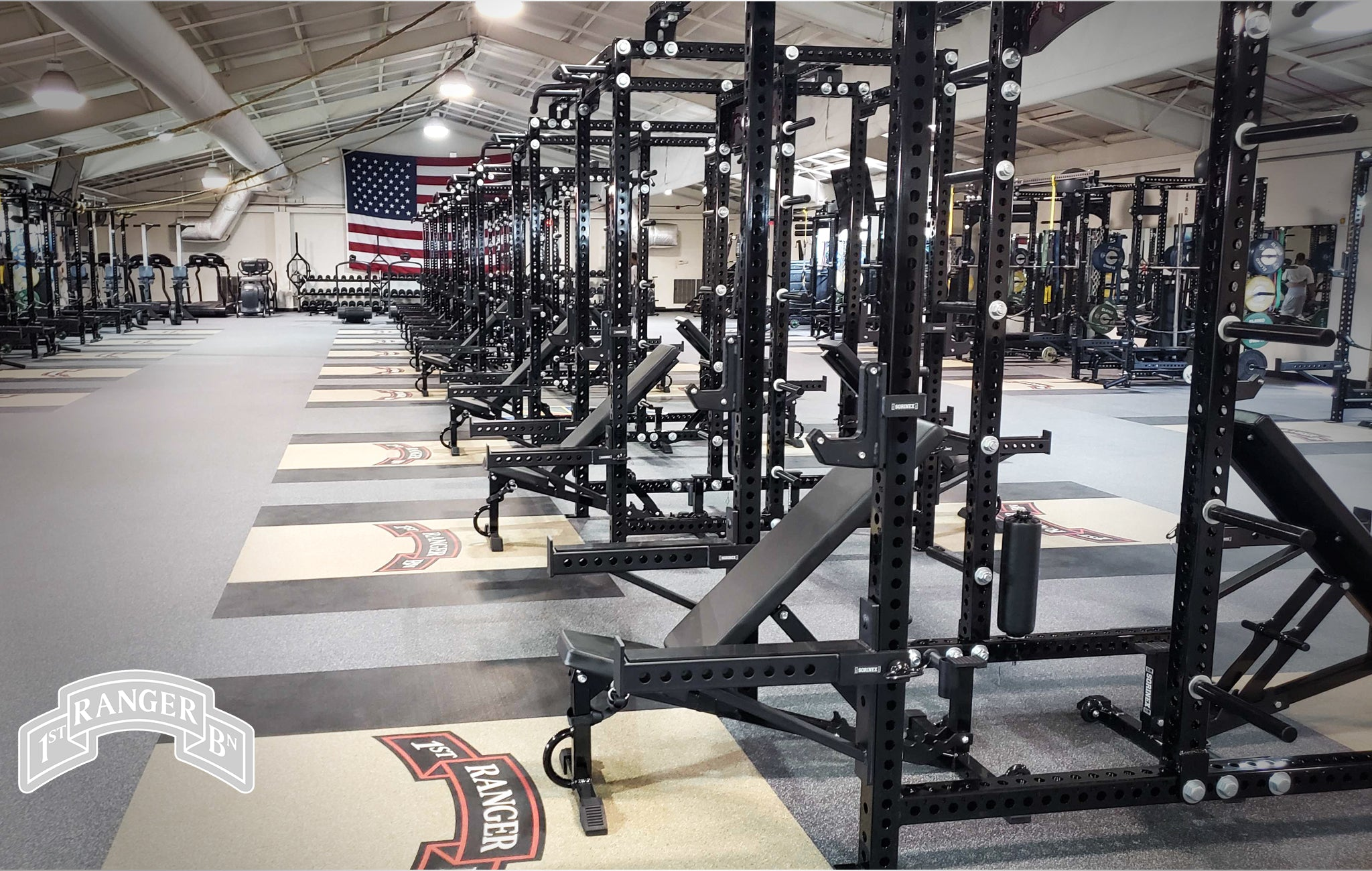 1/75th rangers Sorinex strength and conditioning facility