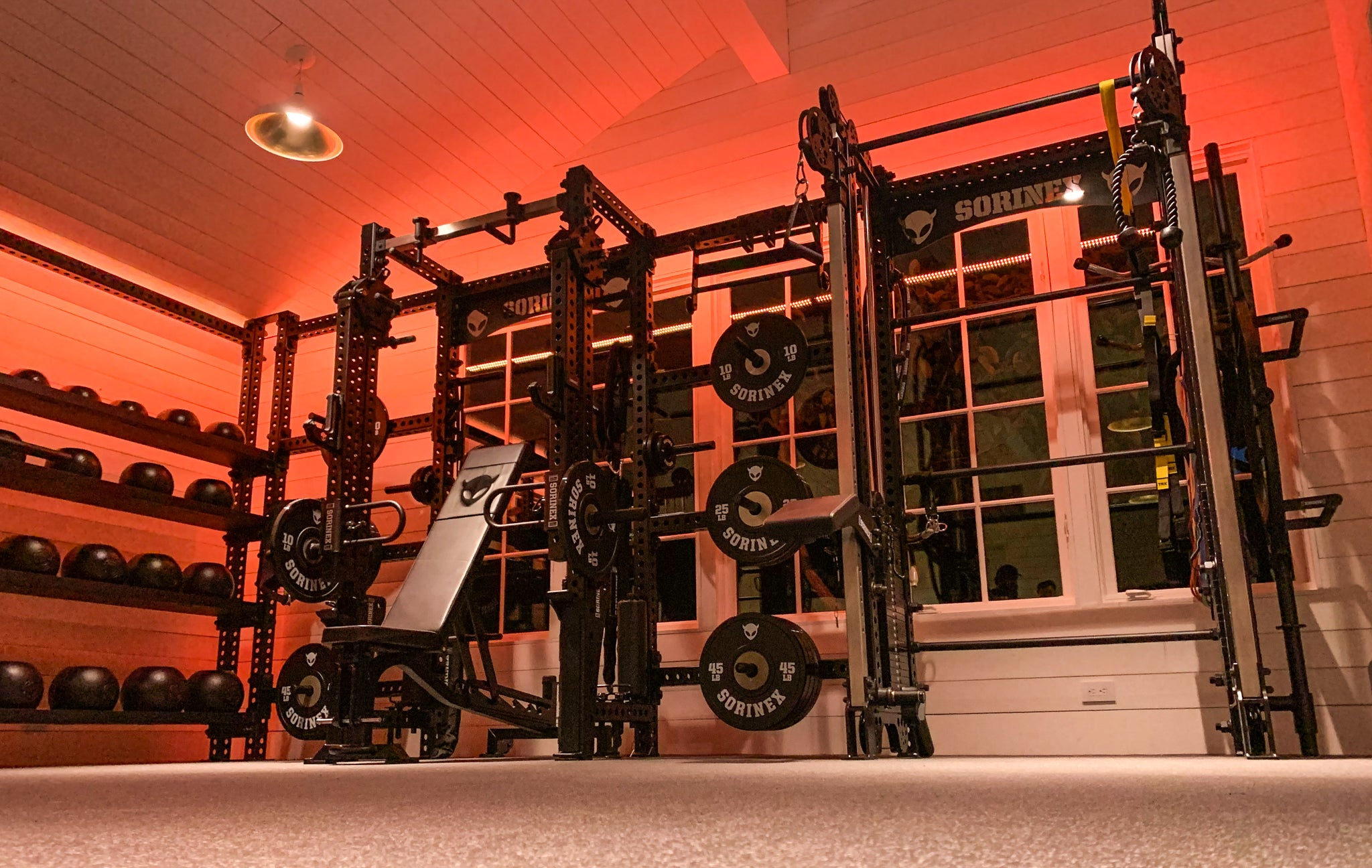 Joe Rogan Home Gym