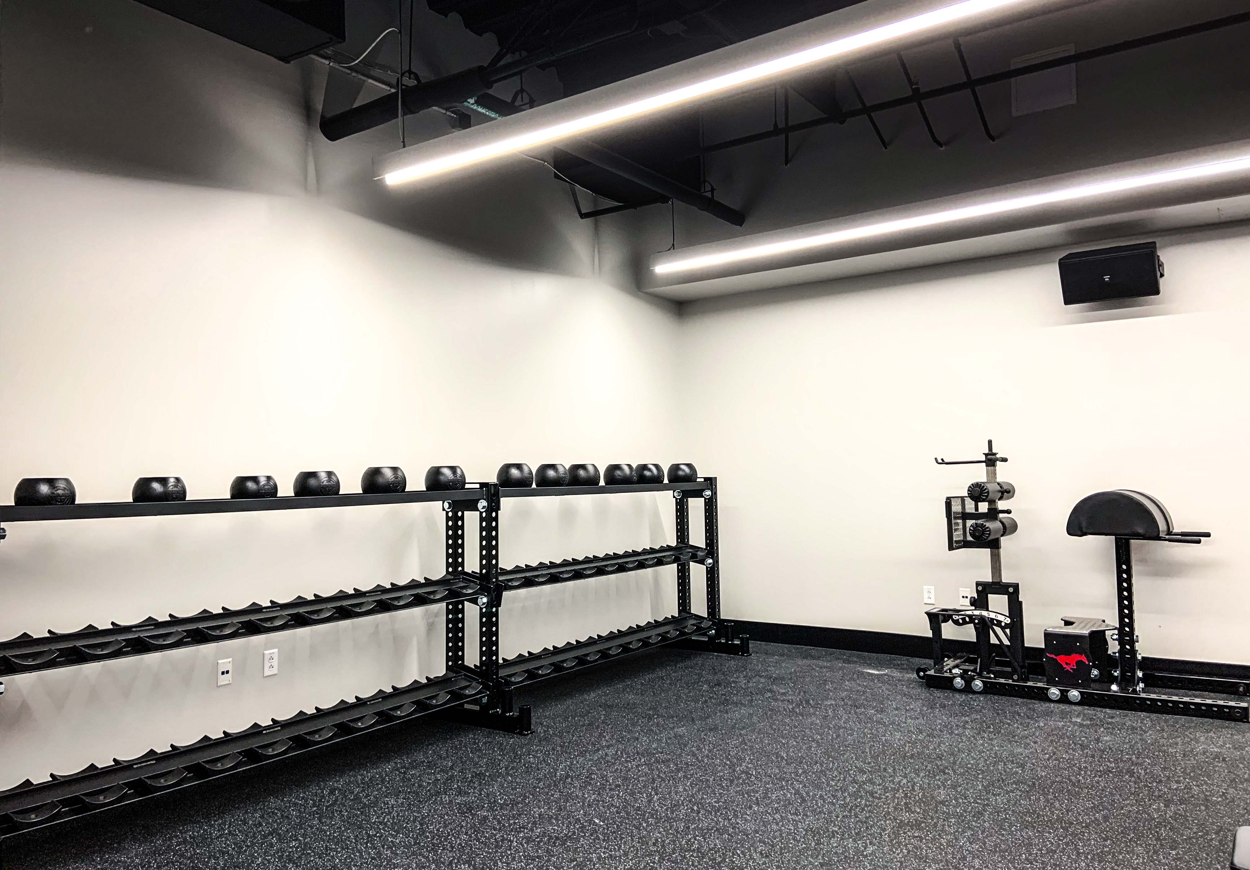 college strength training facilities in Texas