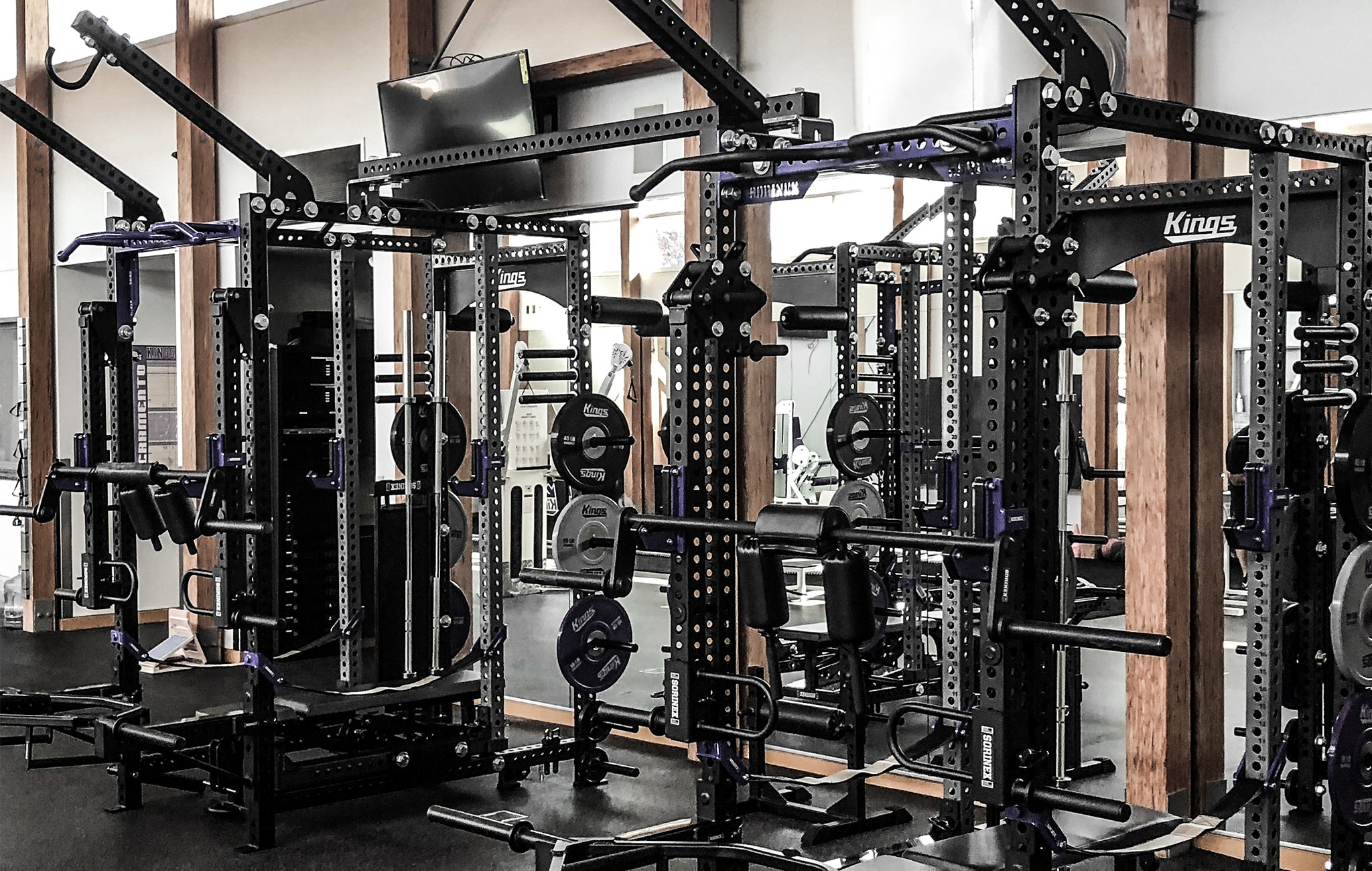 Professional basketball Weight Rooms