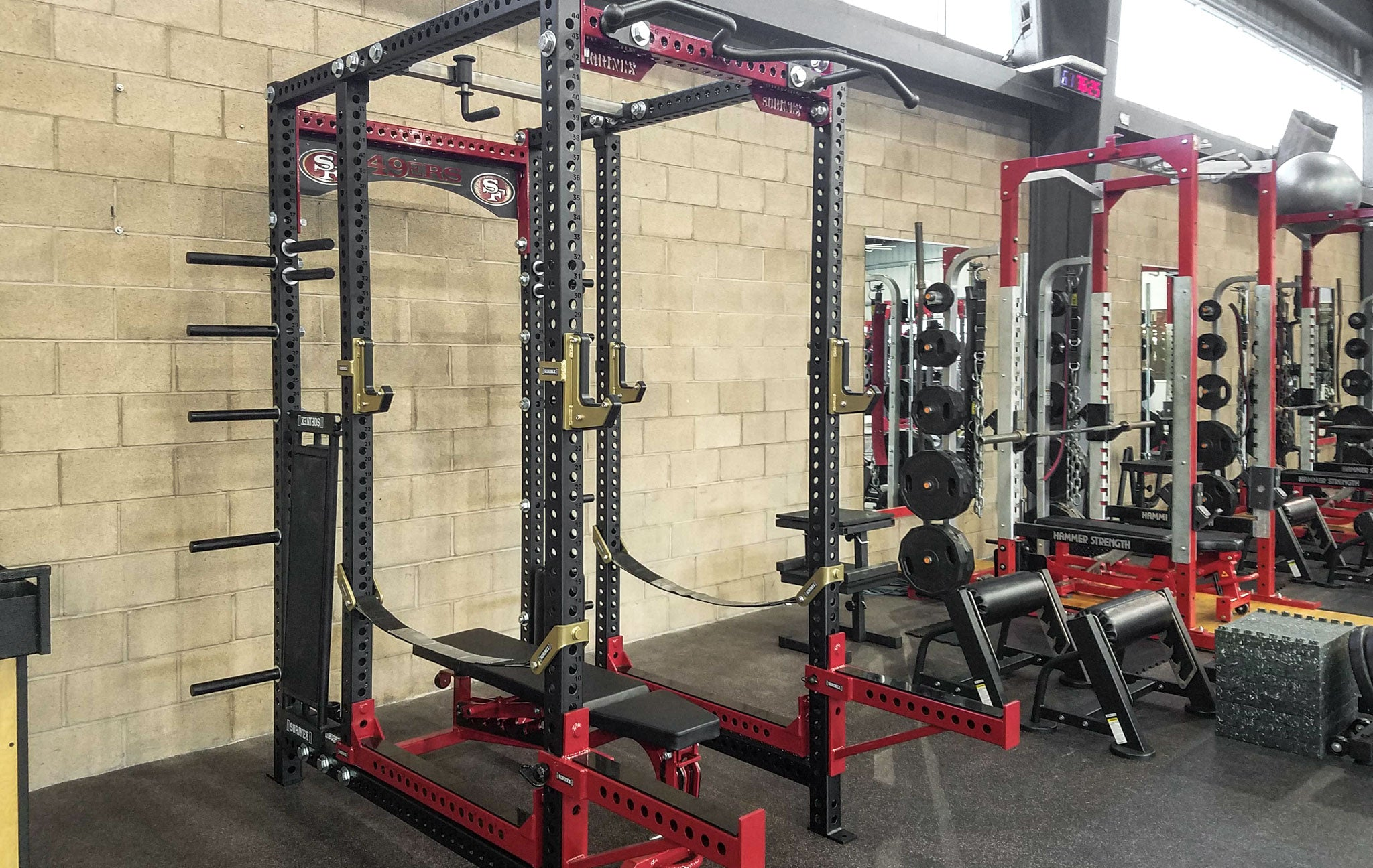 San Francisco 49ers weight room