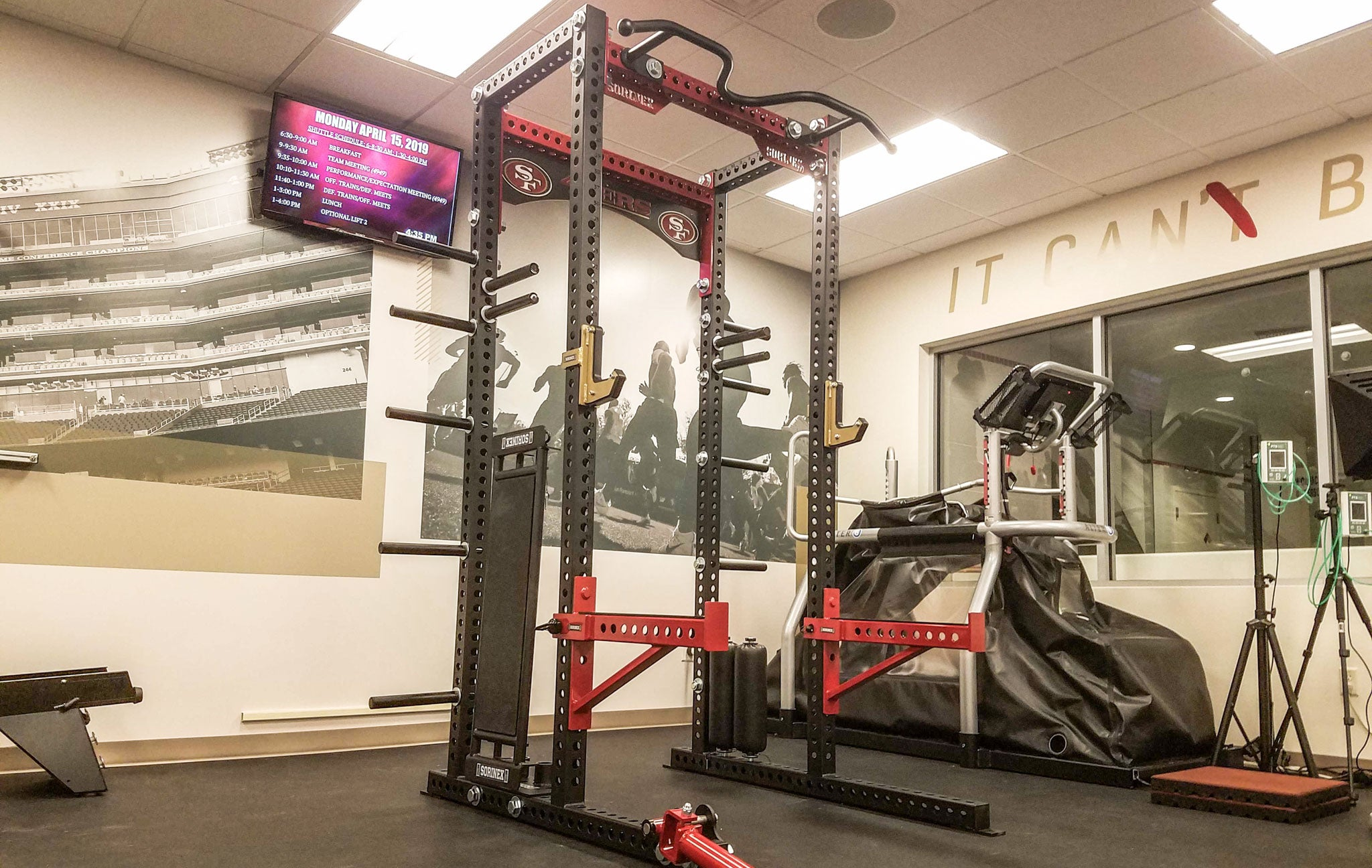 49ers strength and conditioning