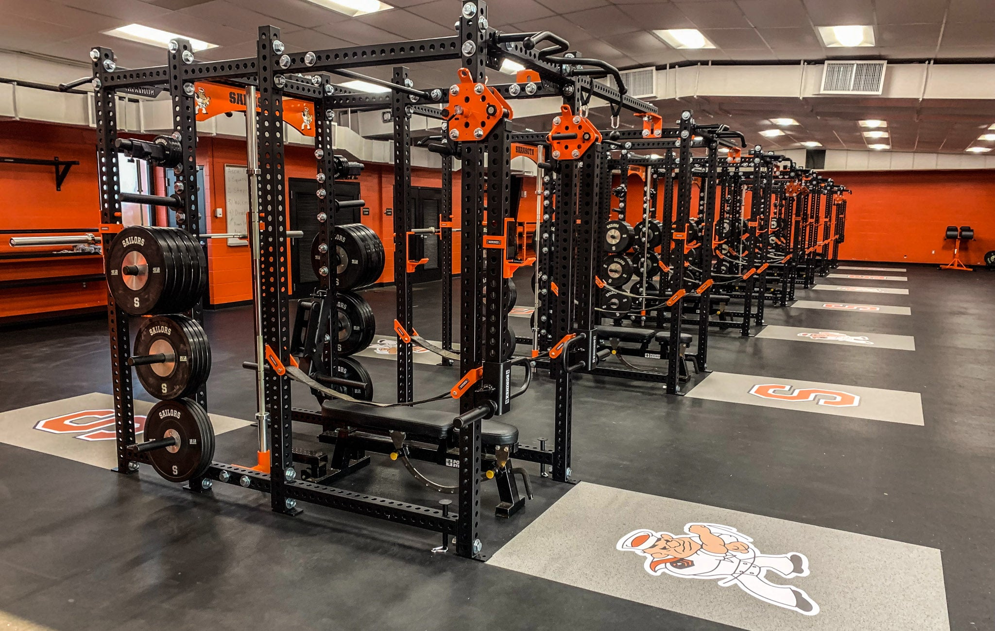 Sarasota High School strength and conditioning