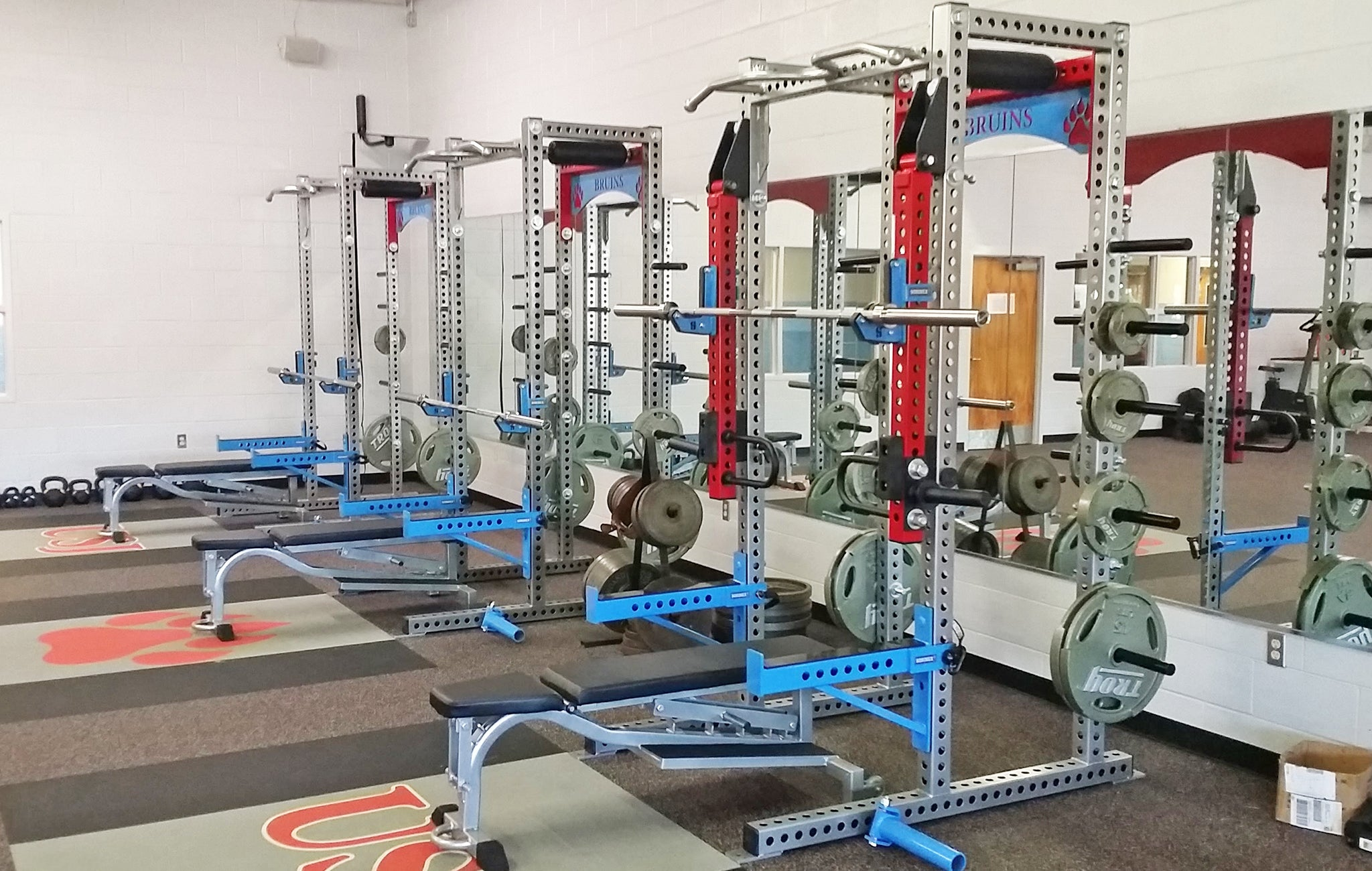 University School of Jackson Weight Room