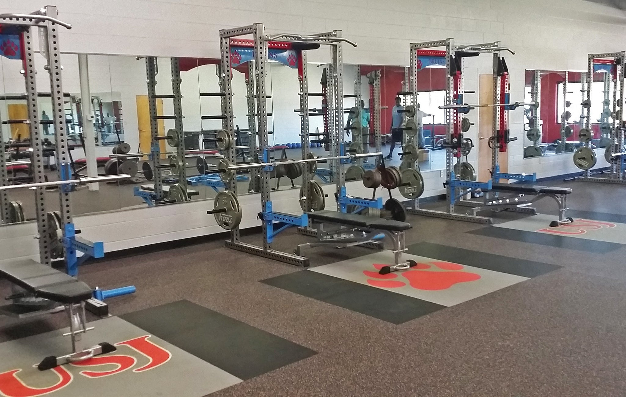 University School of Jackson strength training