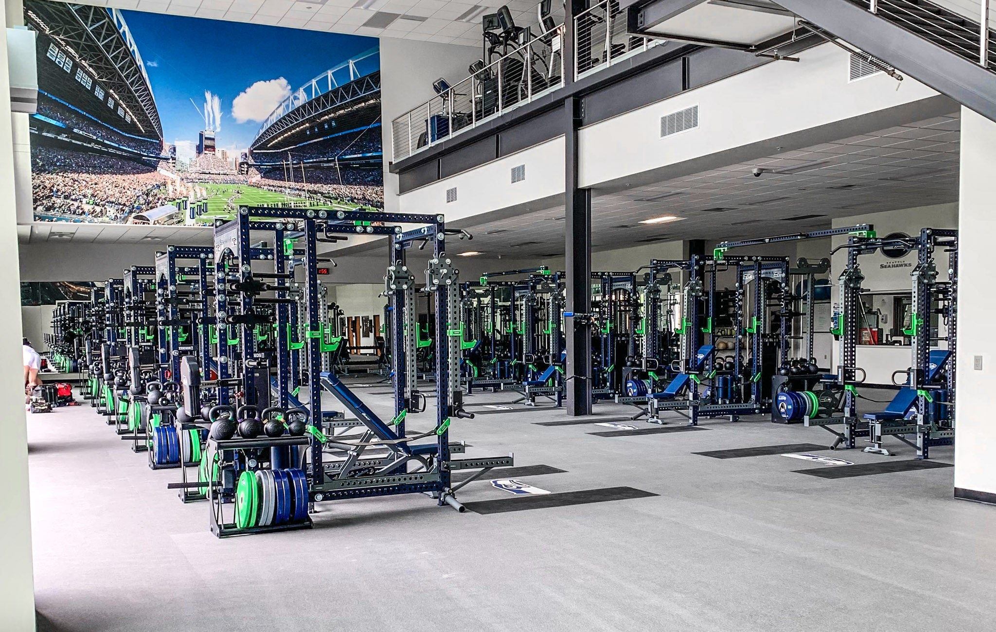 Seattle Seahawks Weight Room