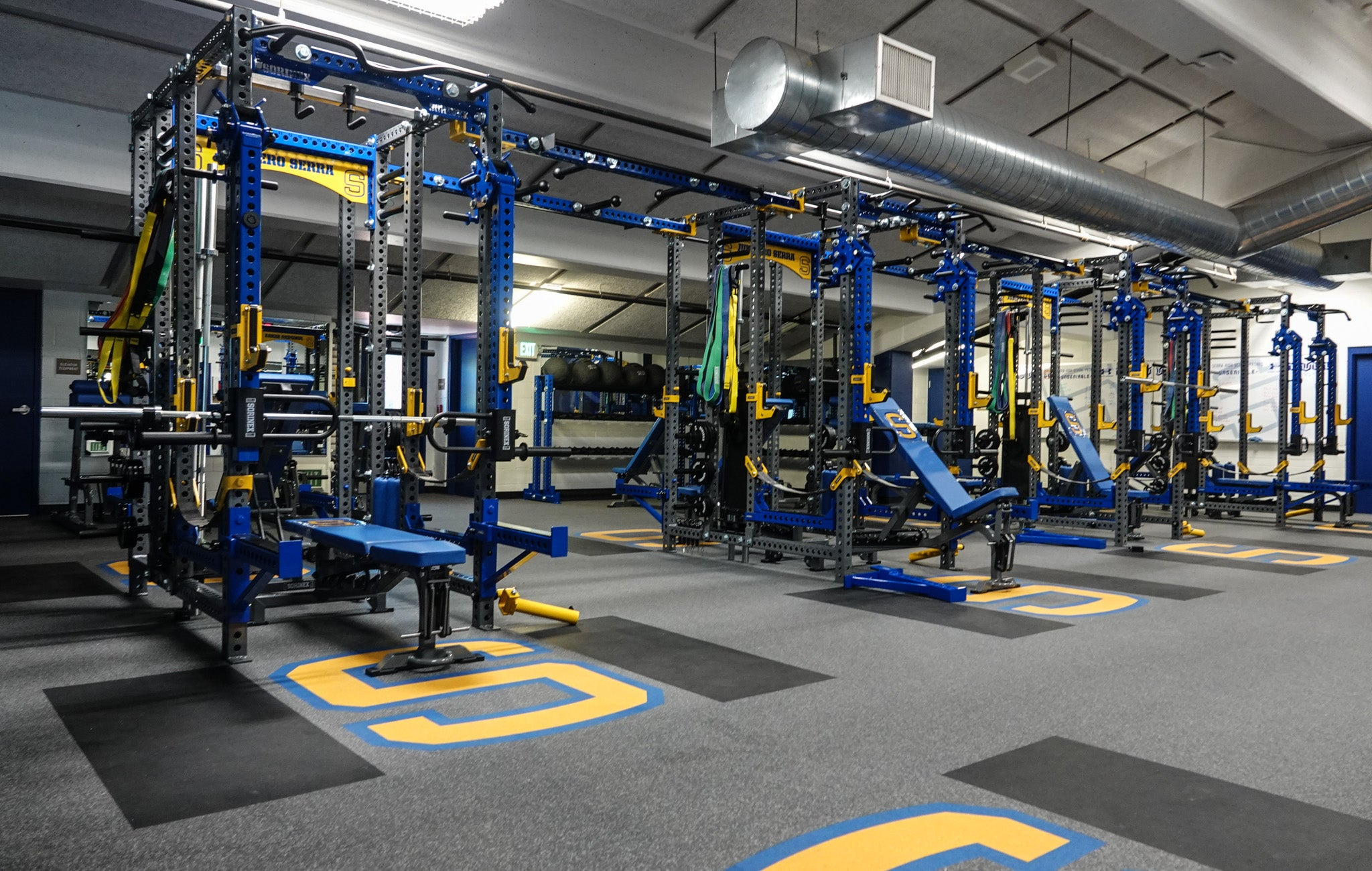 Serra High School Weight Room