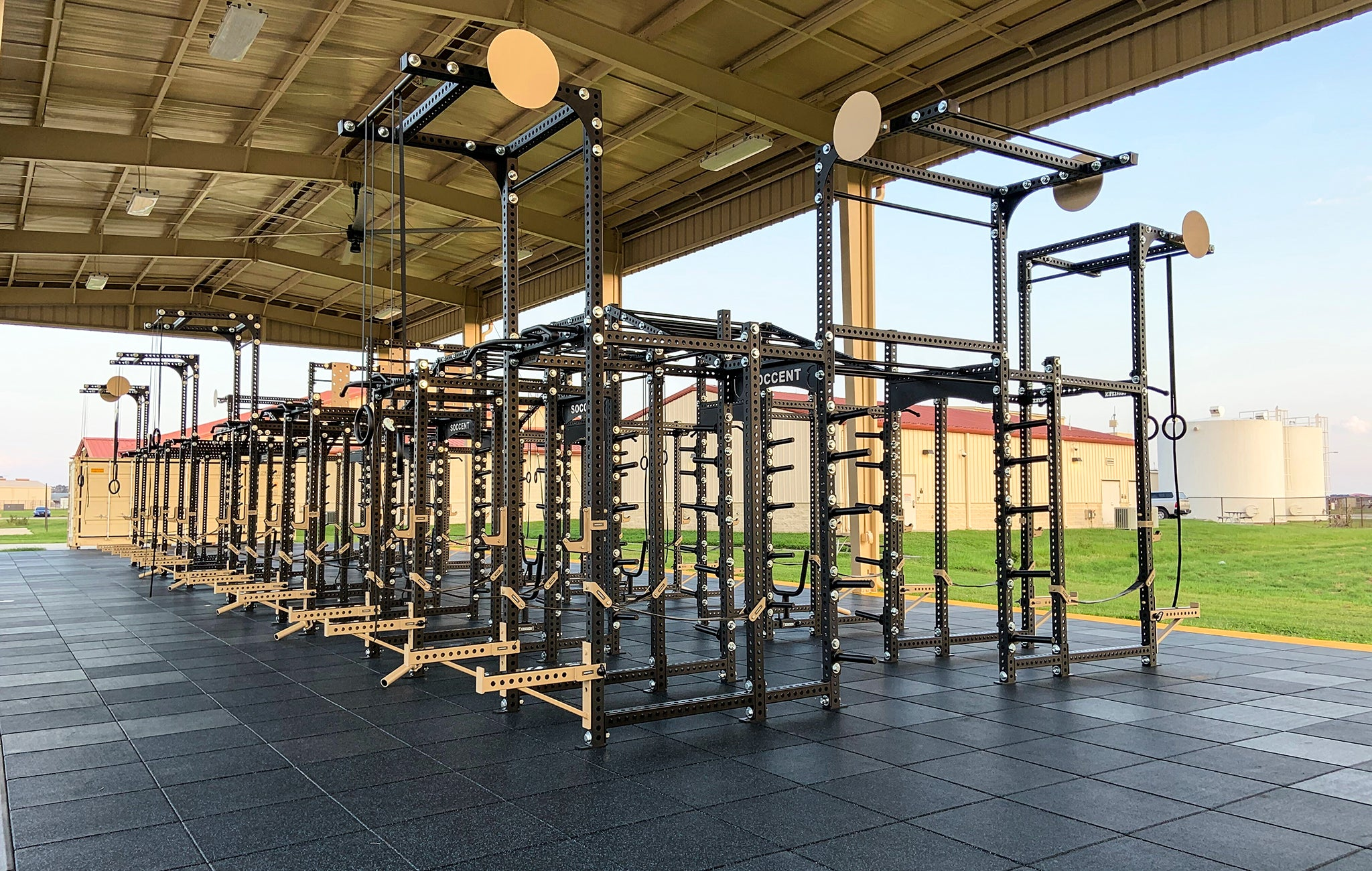 SOCCENT Military Weight Room