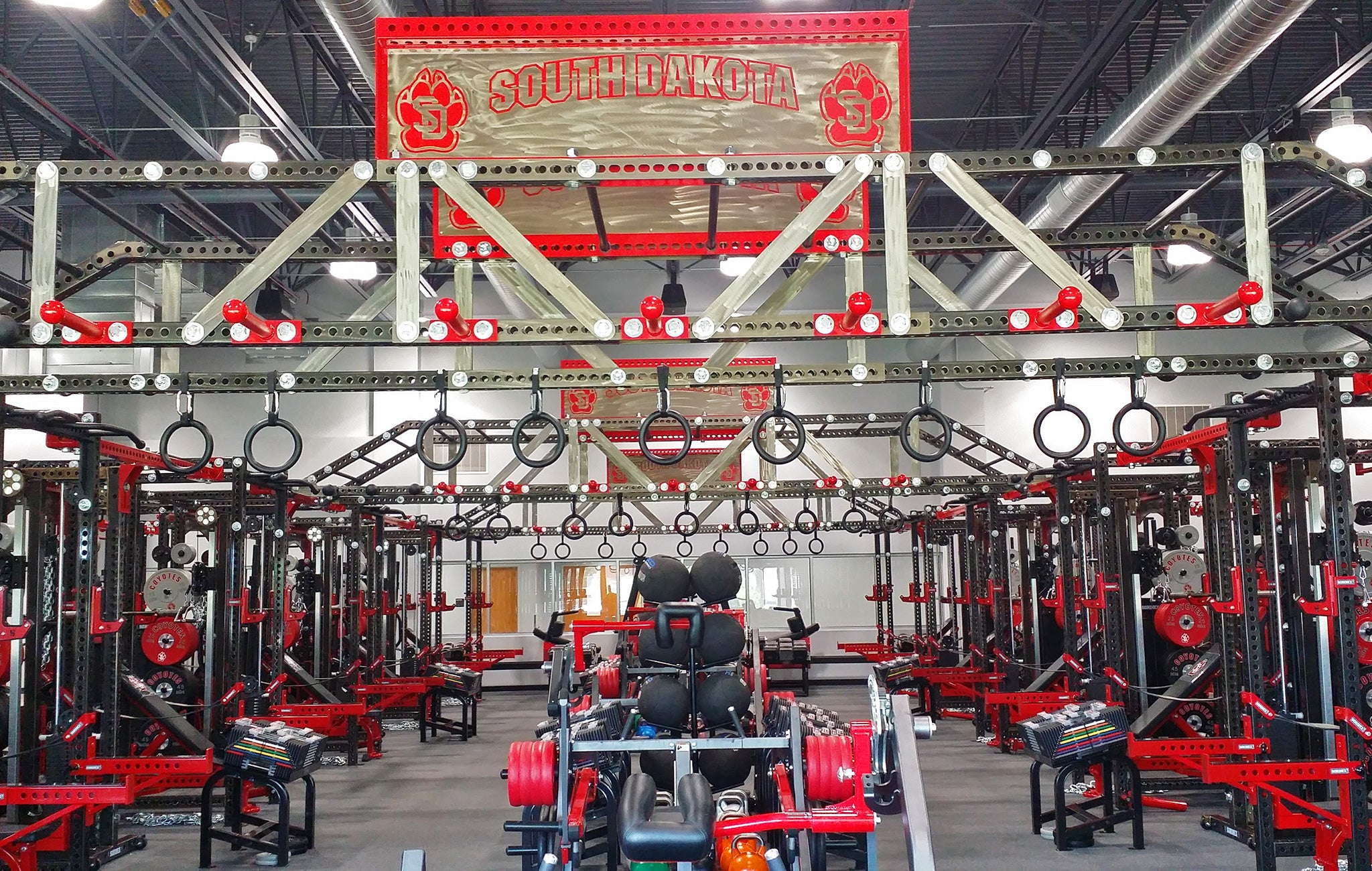 University of South Dakota Weight Room