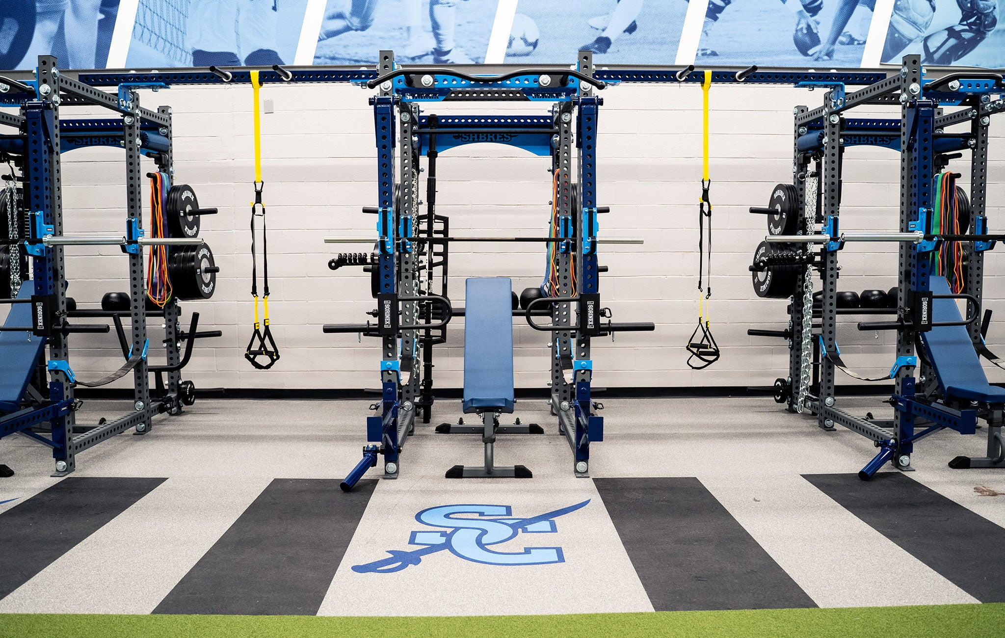 Southside Christian High School Weight Room