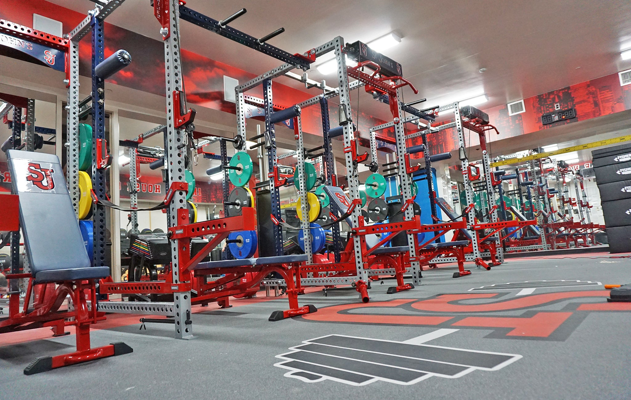 St. John's University Weight Room
