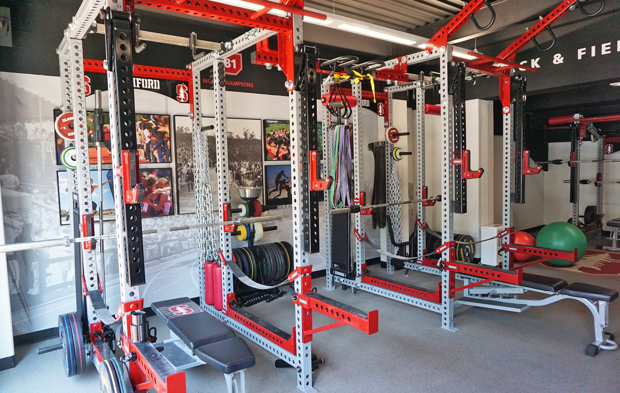 Stanford University Weight Room