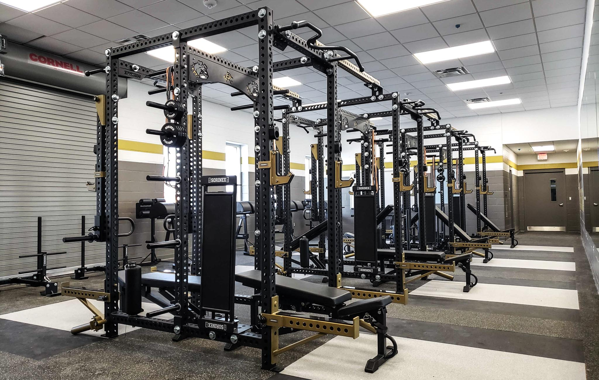 RDISD Summers Middle School weight Rooms