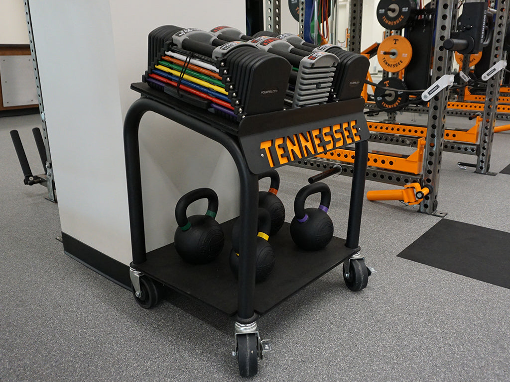 University of Tennessee Rolling Power Block Cart
