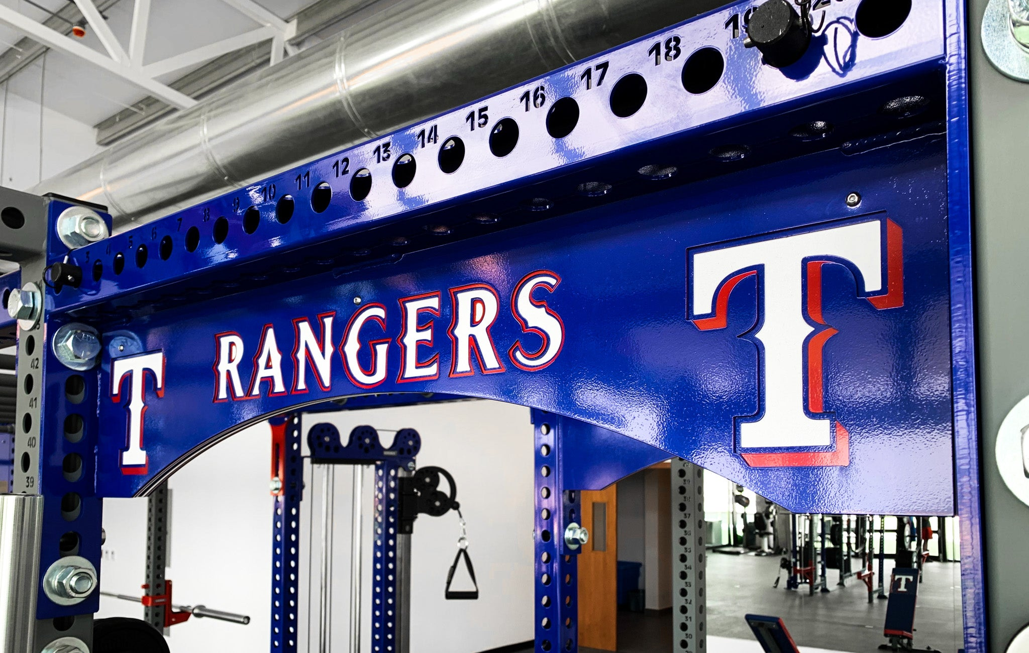 Texas Rangers strength training