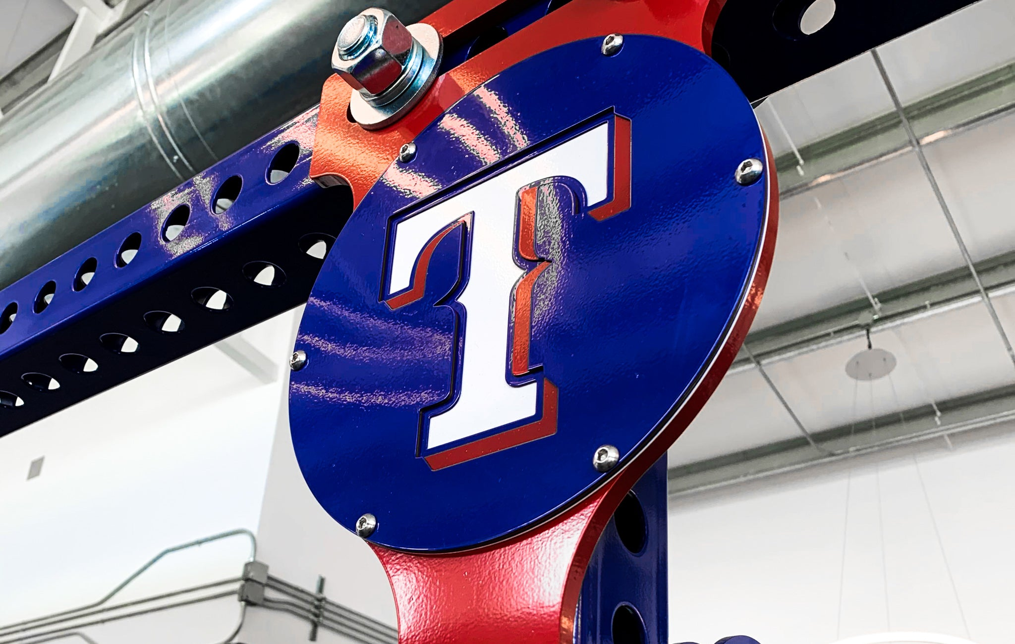 Texas Rangers weight training
