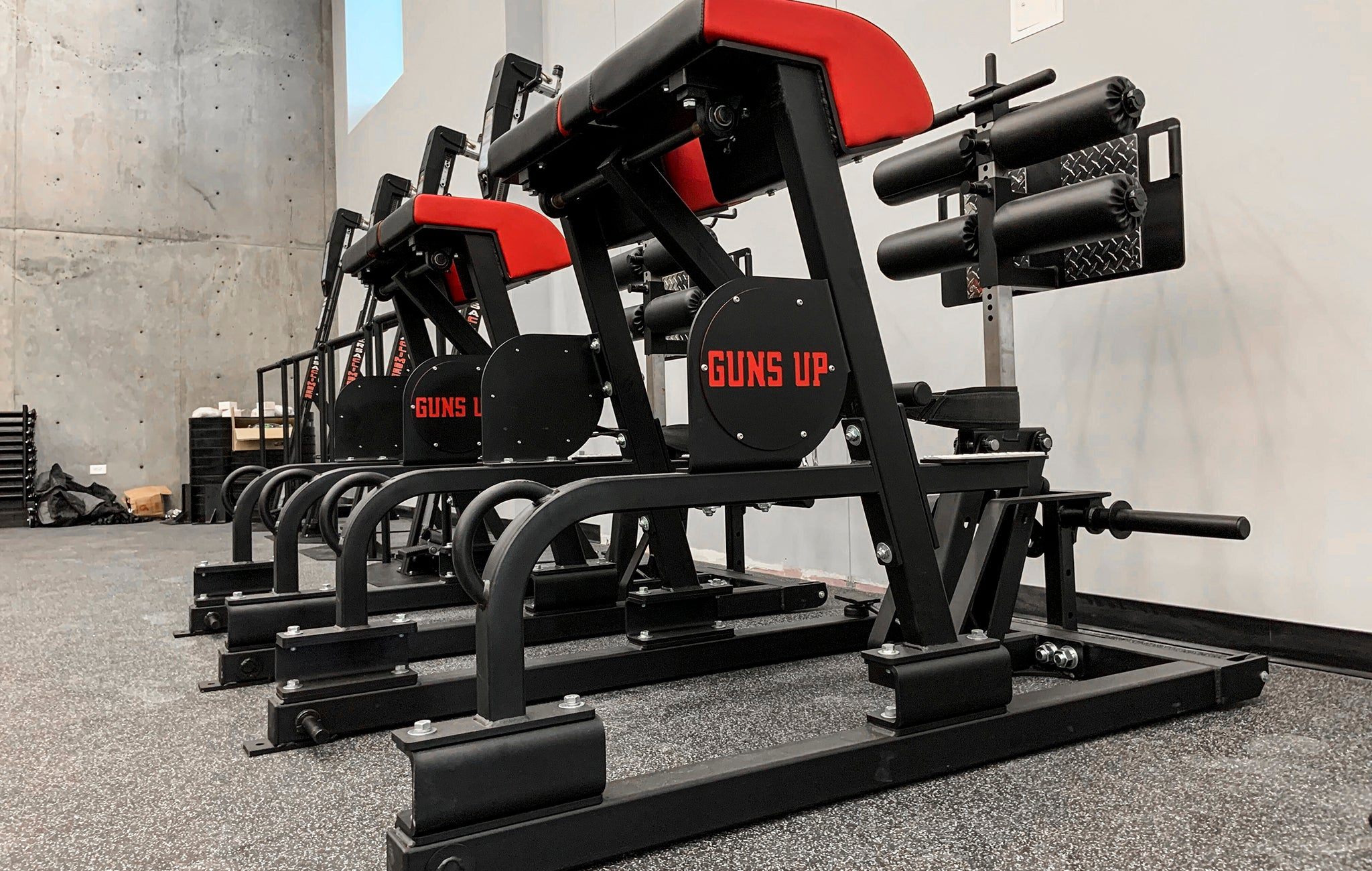 Texas Tech Basketball Weight Room
