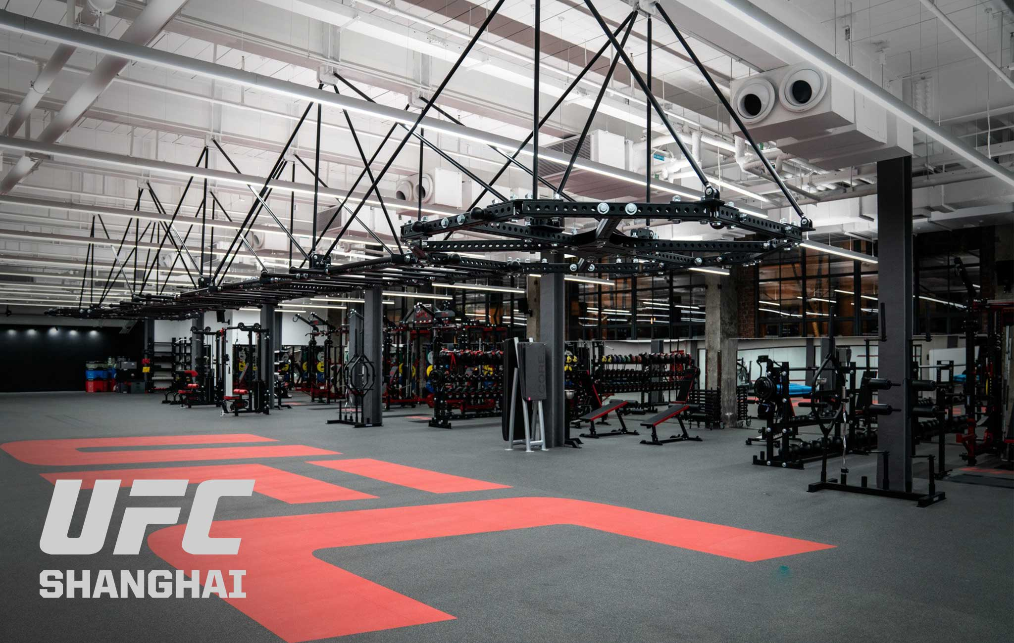UFC Shanghai Sorinex strength and conditioning facility