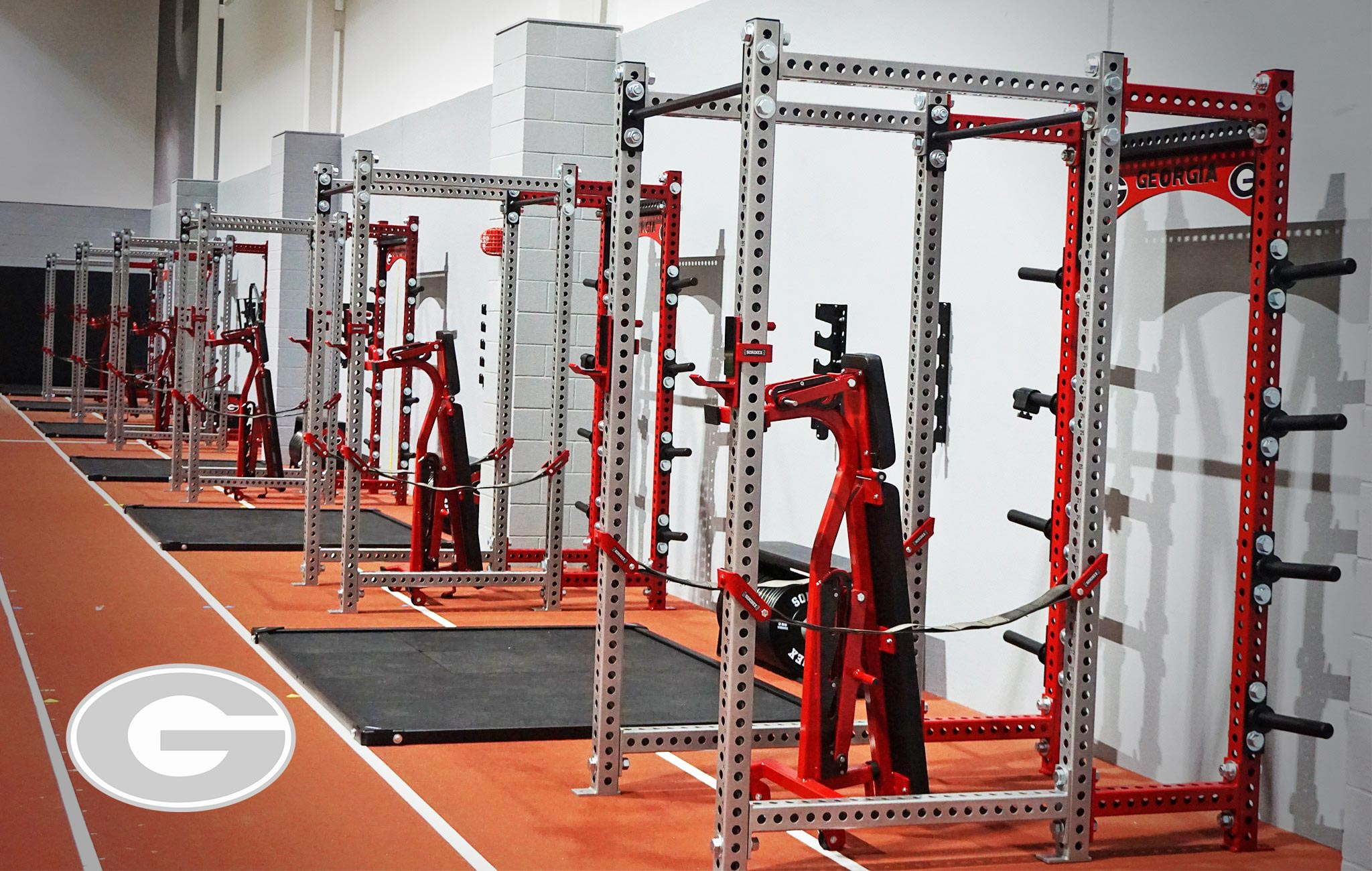 UGA Sorinex strength and conditioning facility