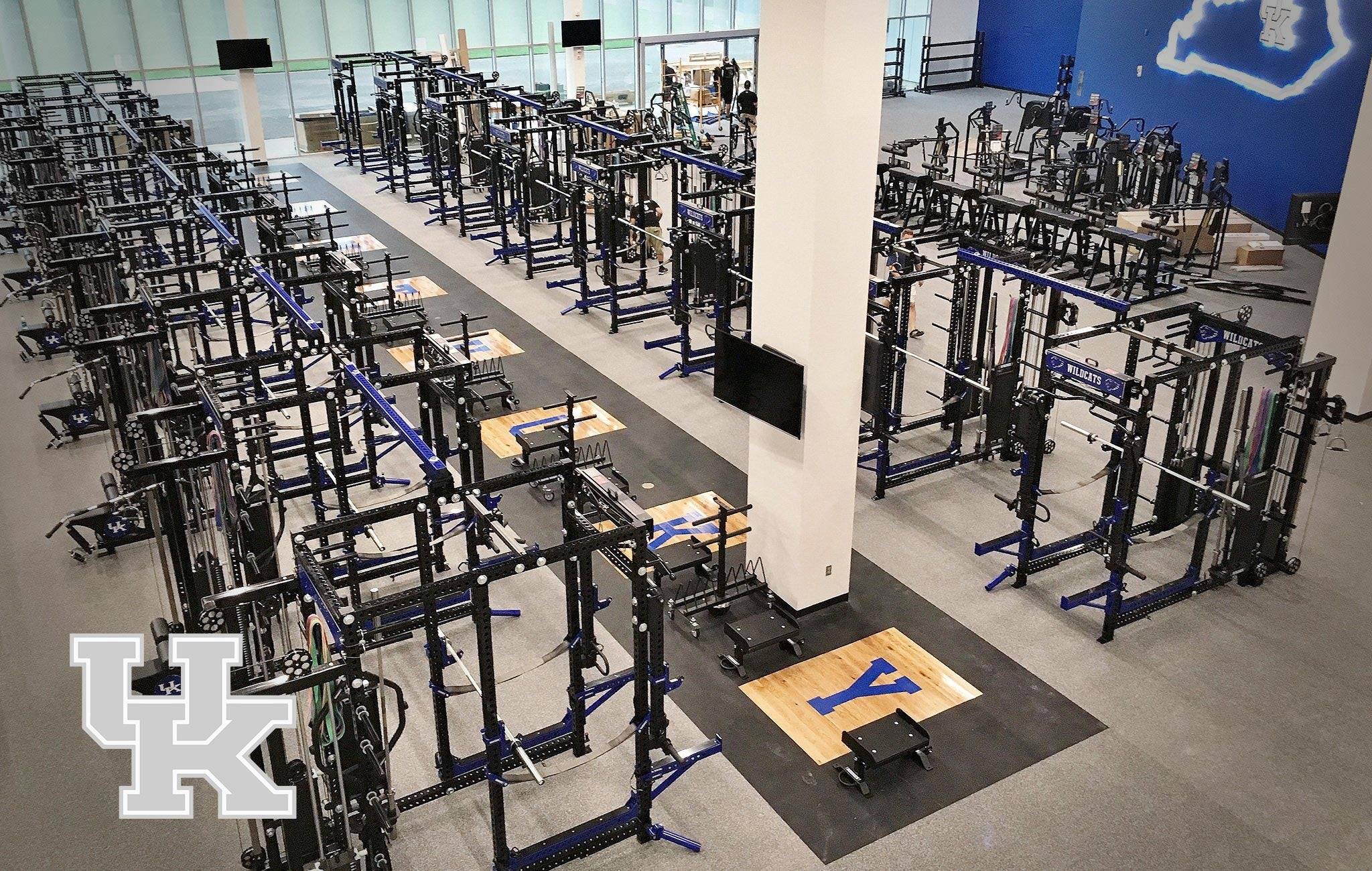 University of Kentucky Sorinex strength and conditioning facility