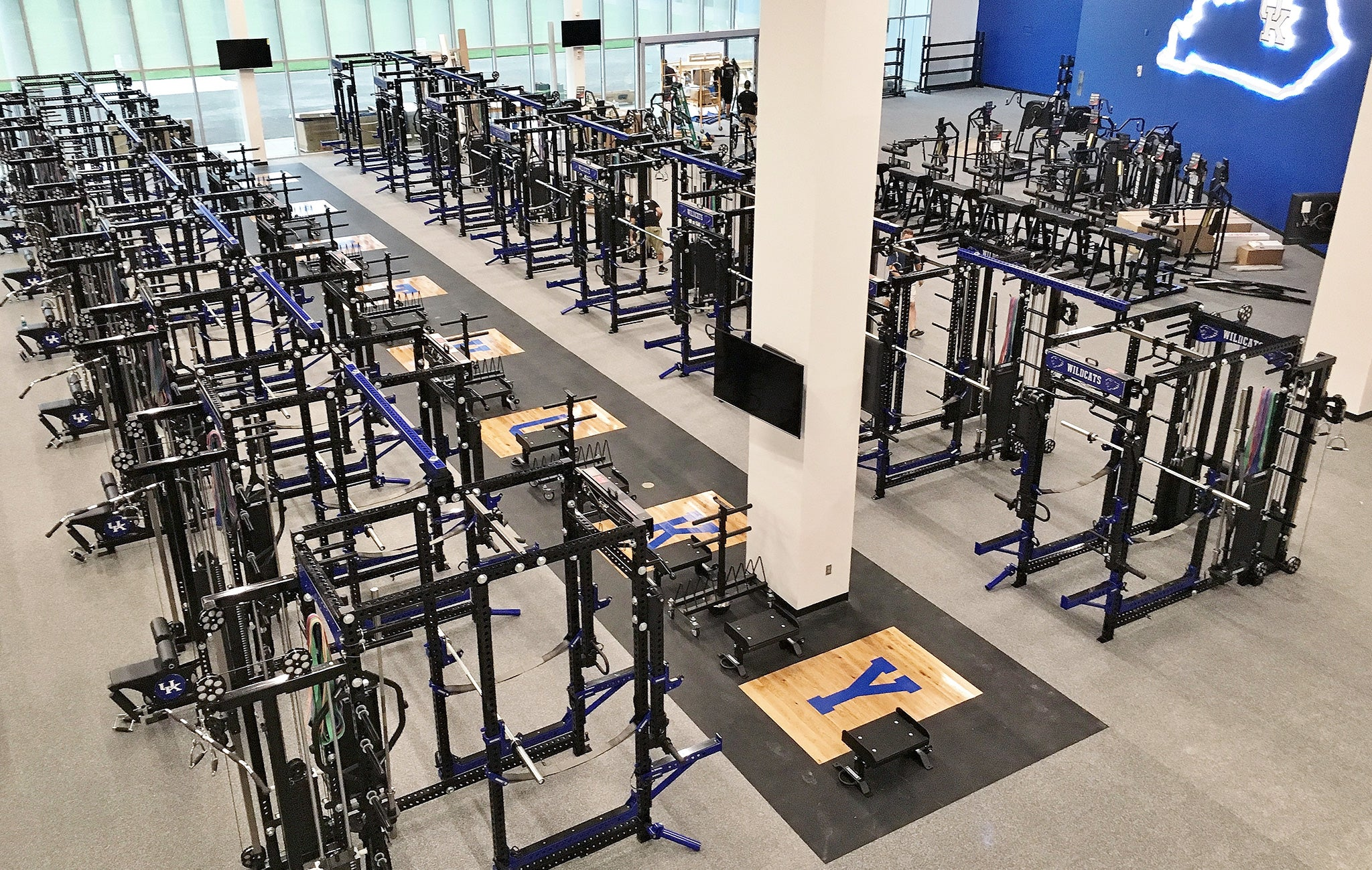University of Kentucky Weight Room