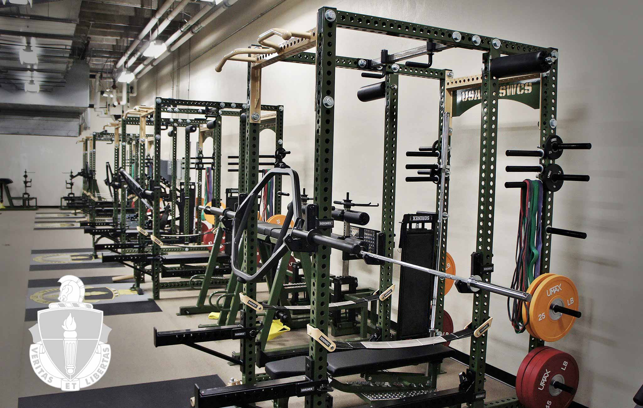USASOC-JFSWCS Sorinex strength and conditioning facility