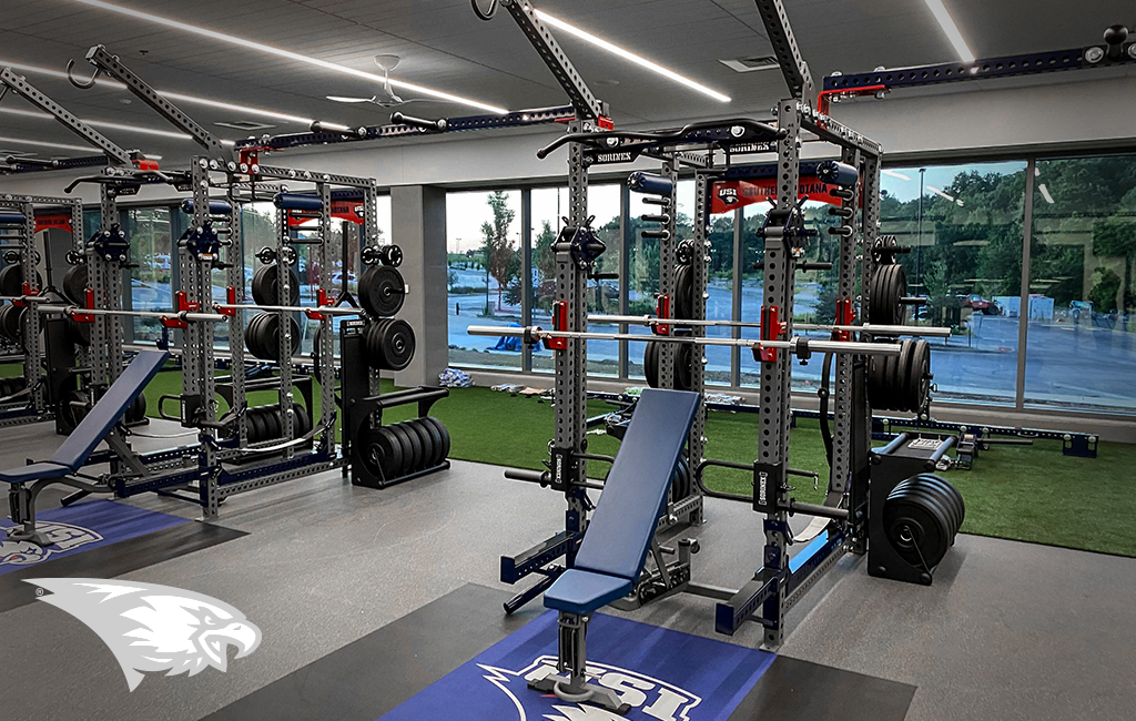 University of Southern Indiana Sorinex strength and conditioning facility