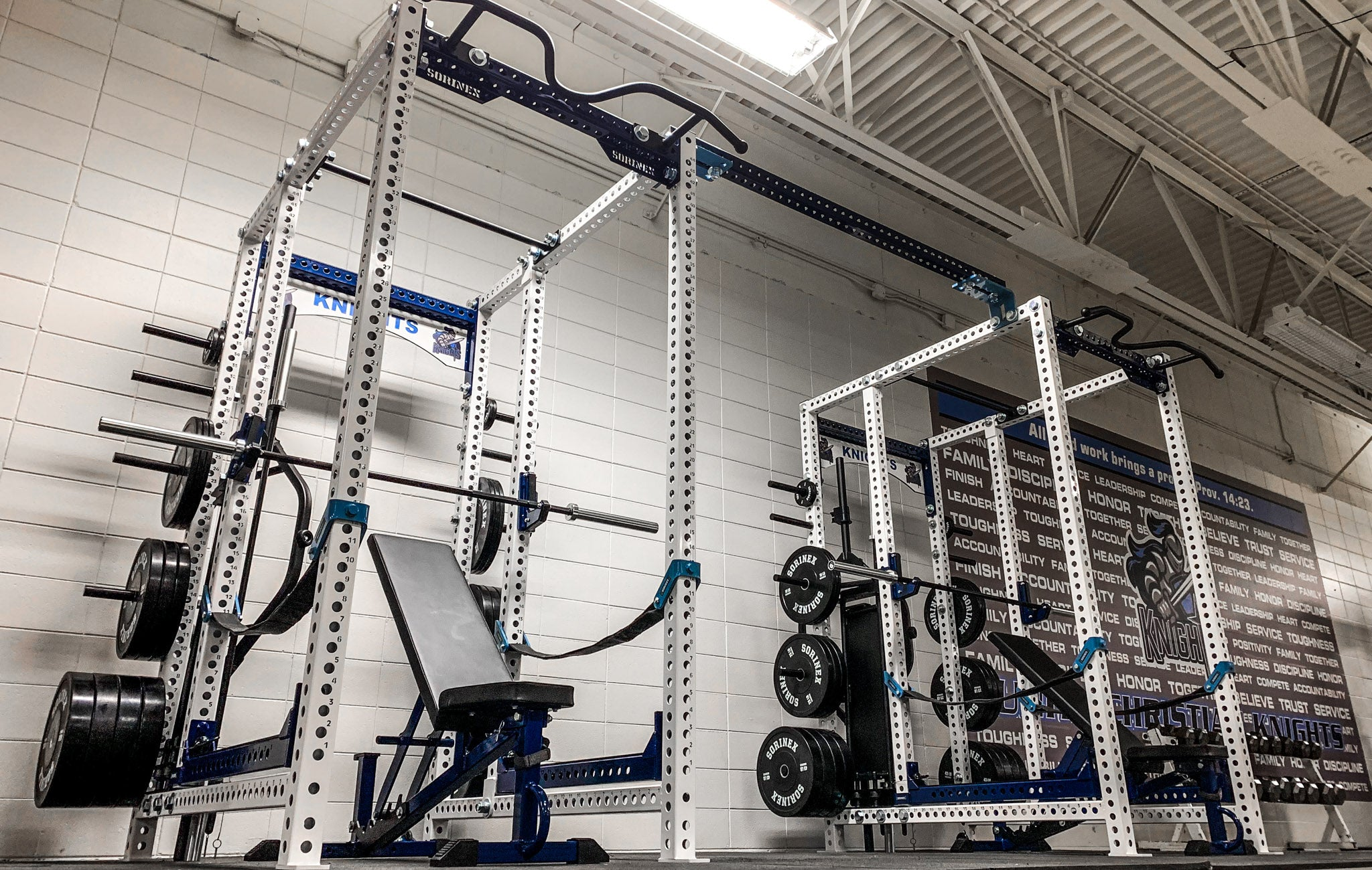 Unity Chrisitan High School Weight Room
