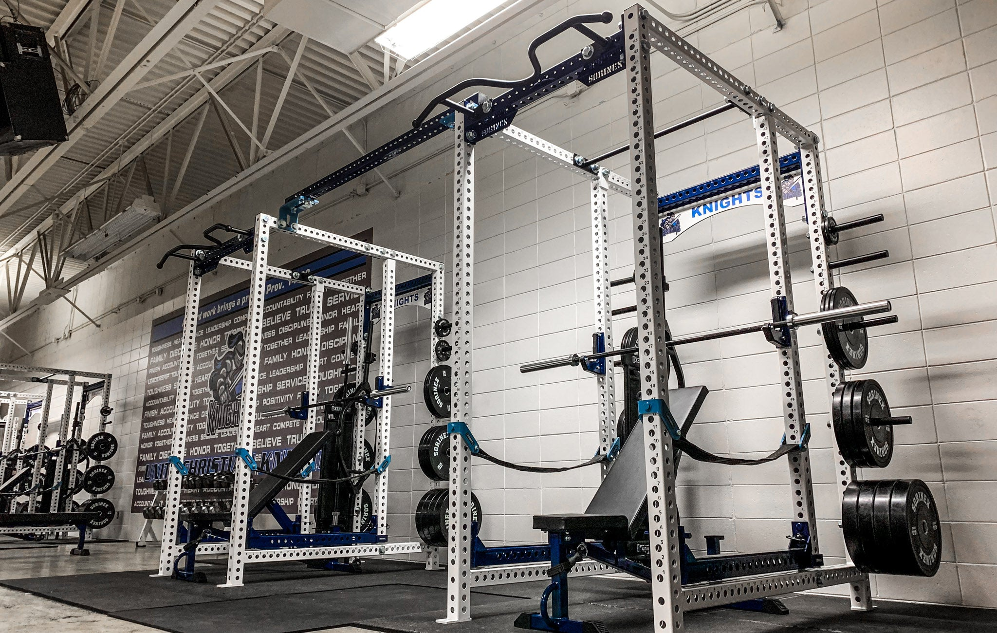 Unity Christiian High School strength training