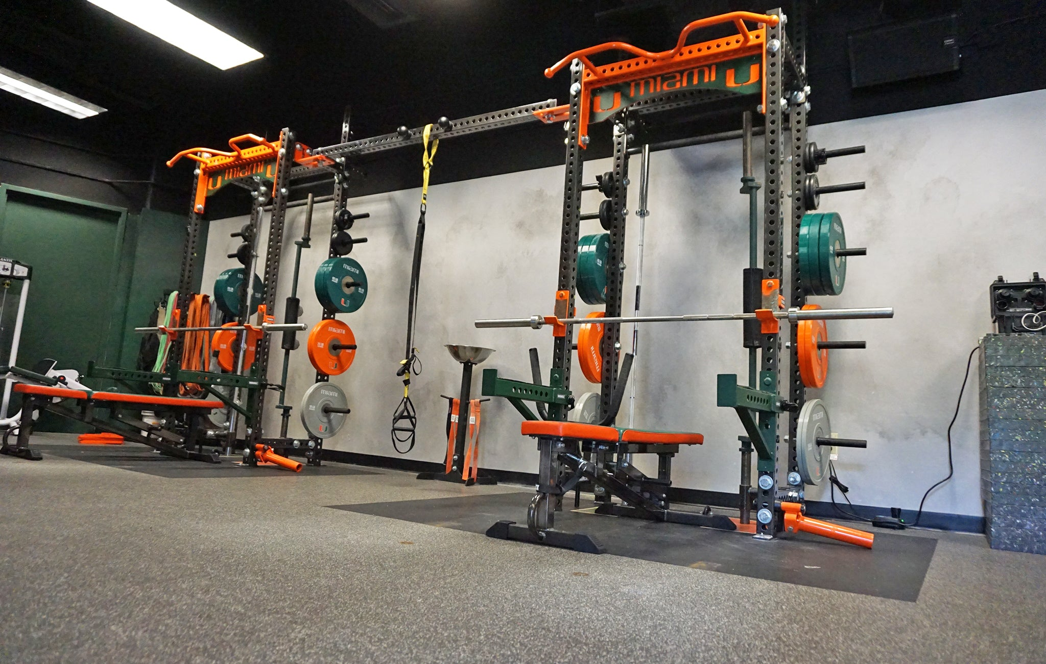 University of Miami basketball strength training