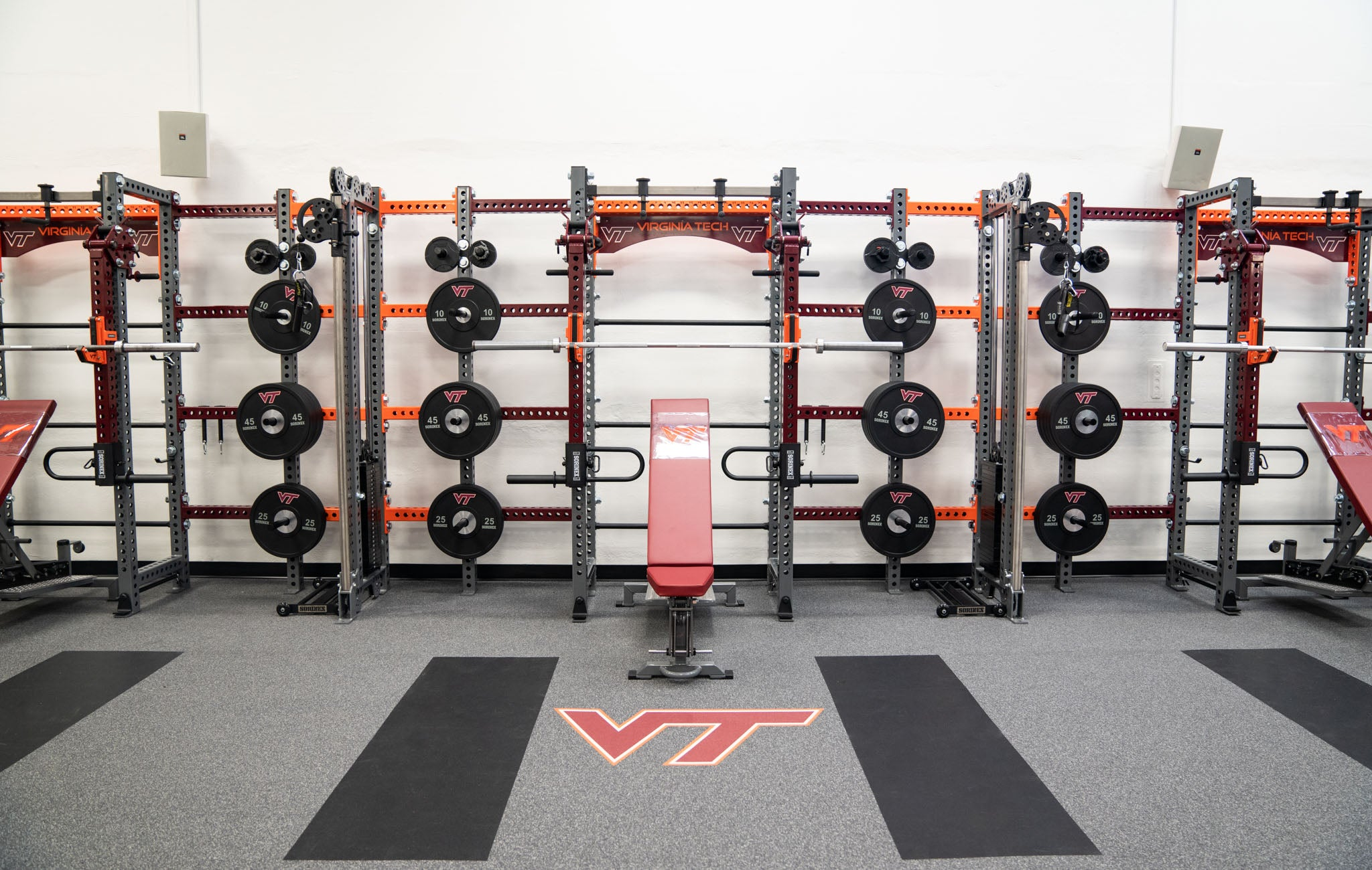 Virginia Tech Apex Rack
