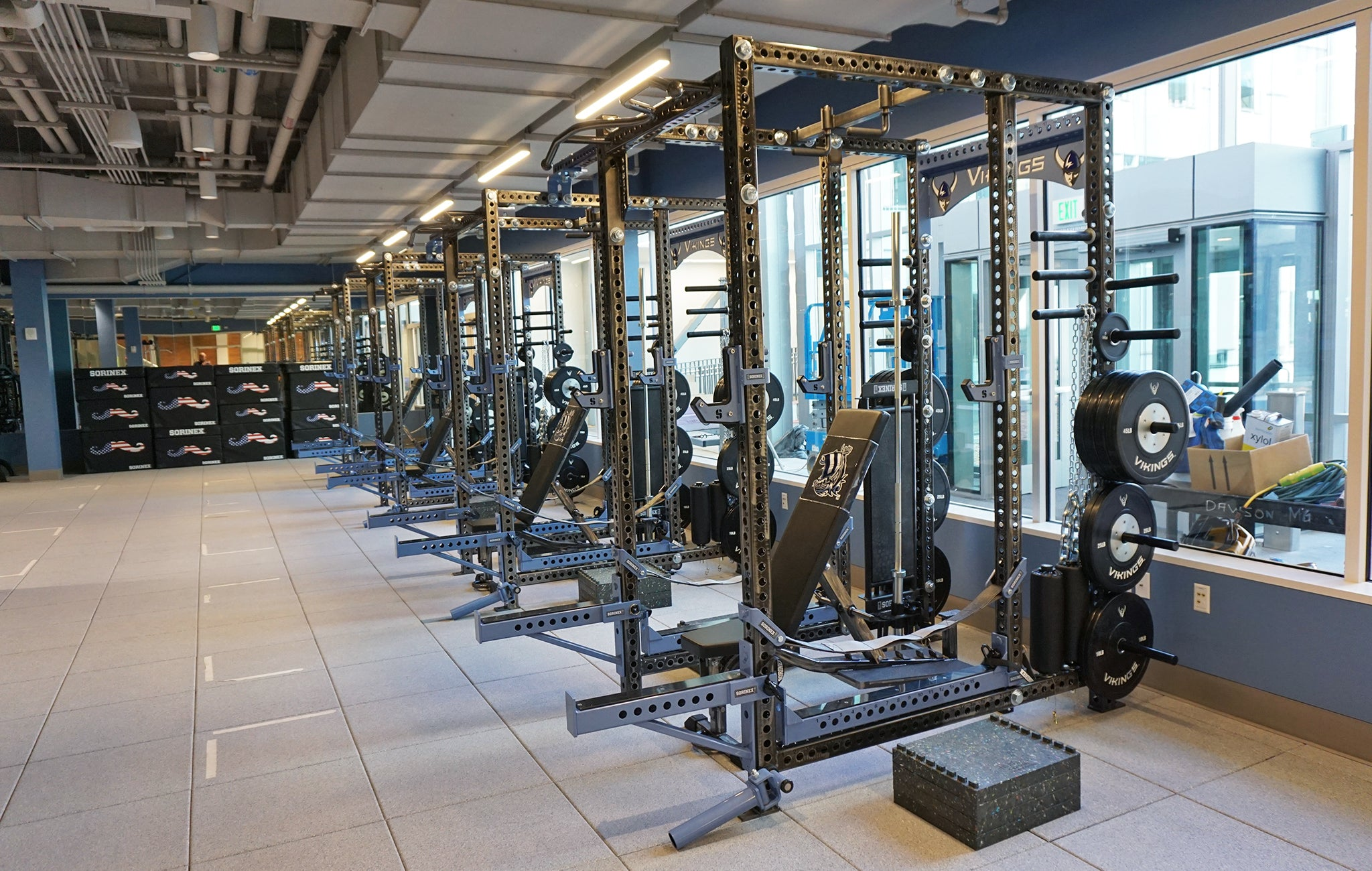Western Washington University Weight Room