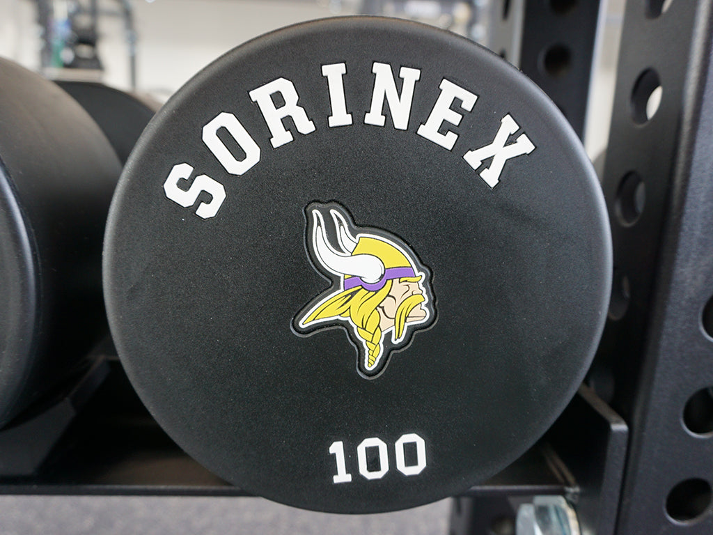 Minnesota Vikings Dumbells