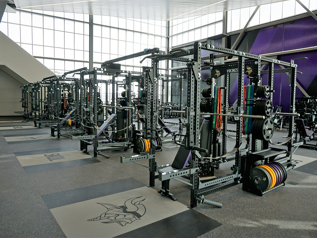 Minnesota Vikings Base Camp Rack