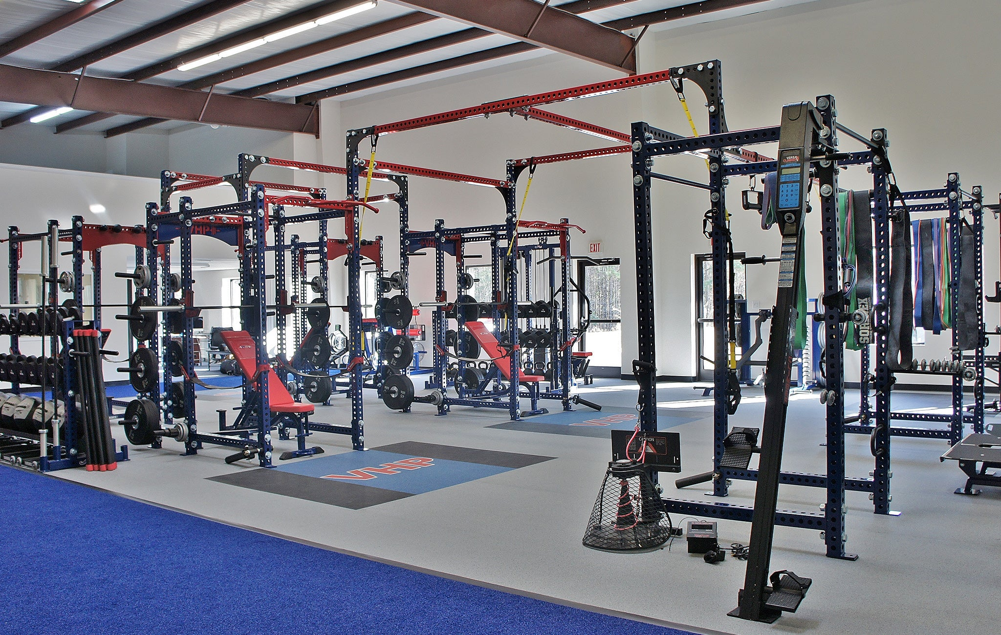 Virginia High Performance strength training