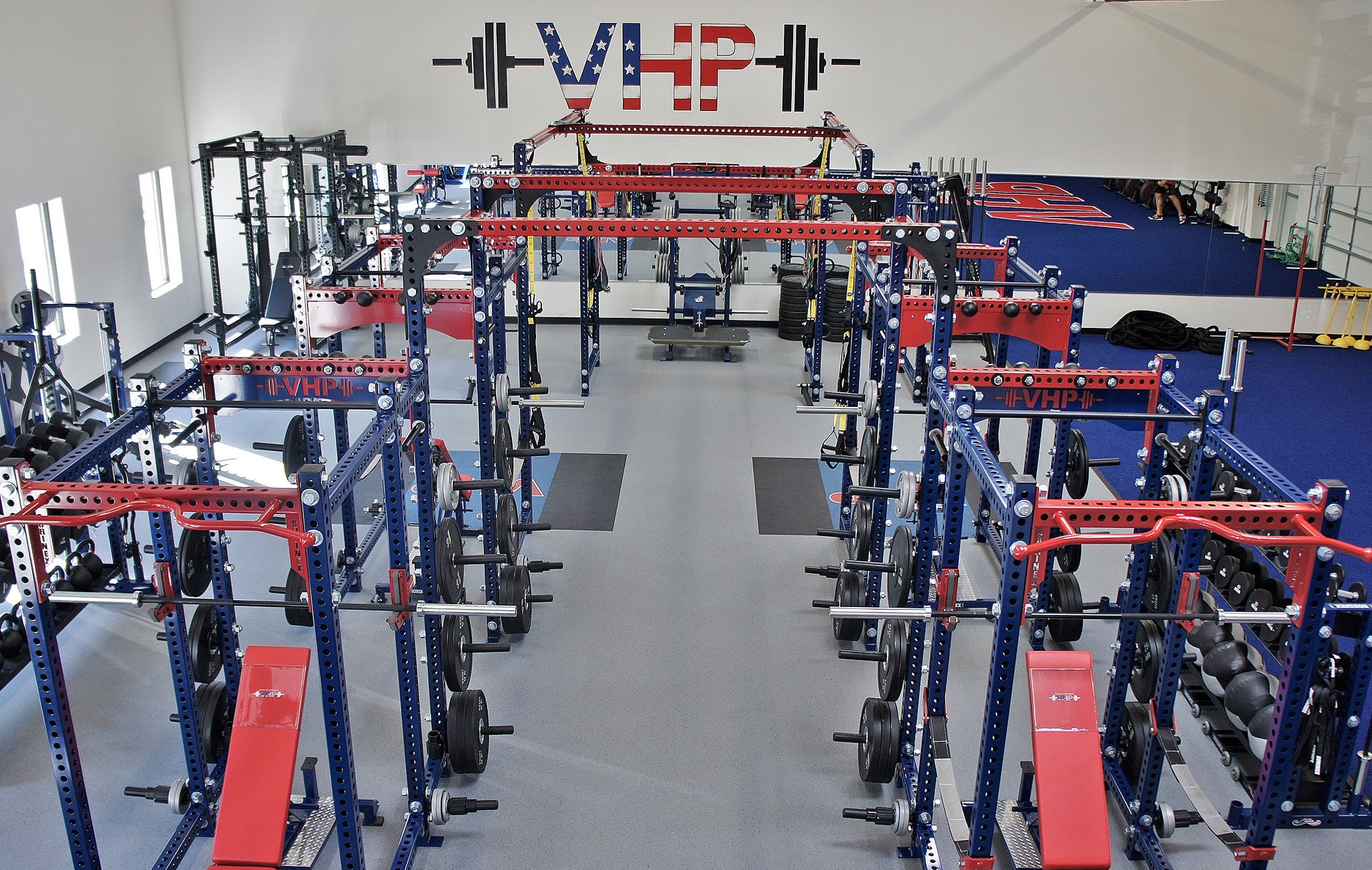 Virginia High Performance Weight room