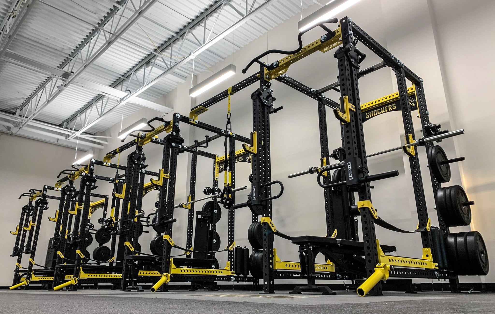 Wichita State University Weight Room