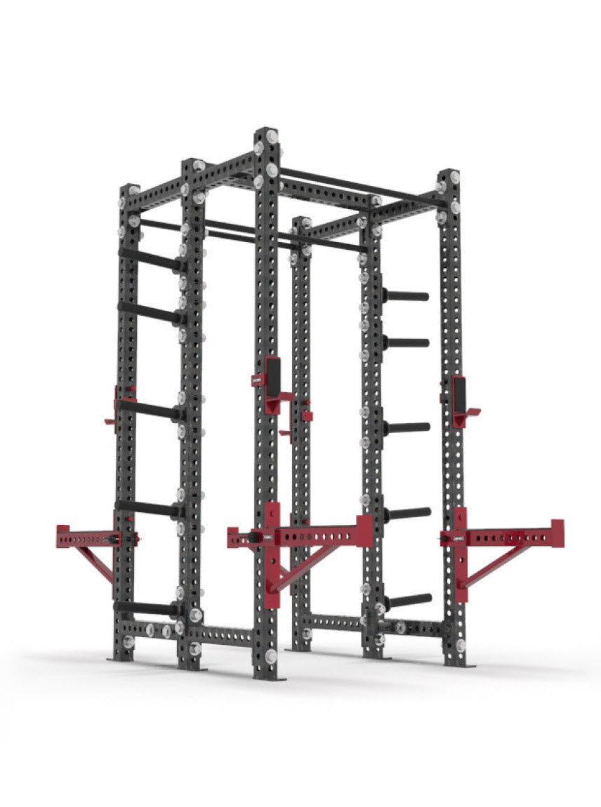xl double half rack side view