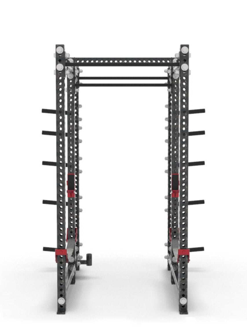 xl power rack front view