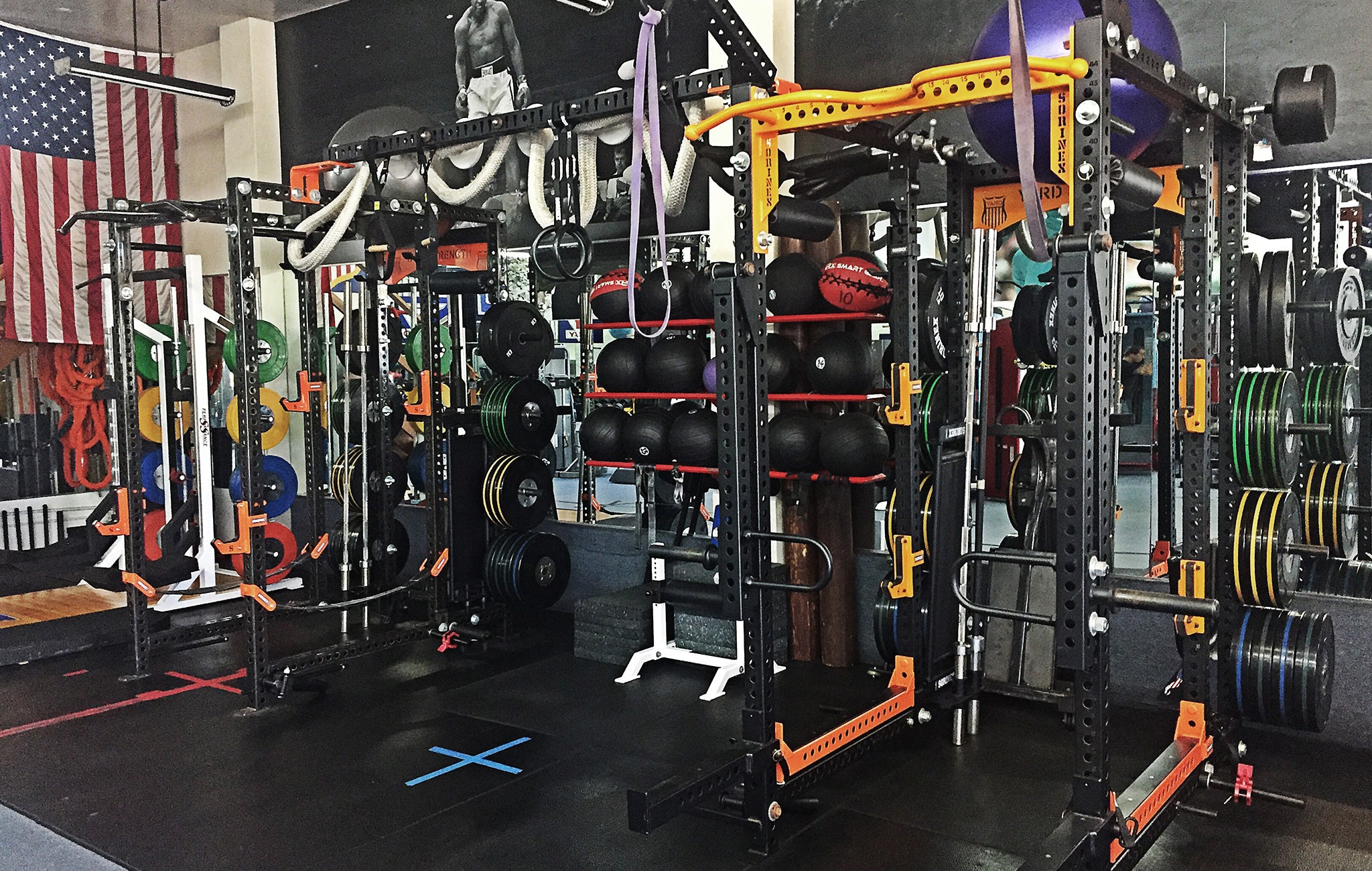 Yard Strength weight rooms