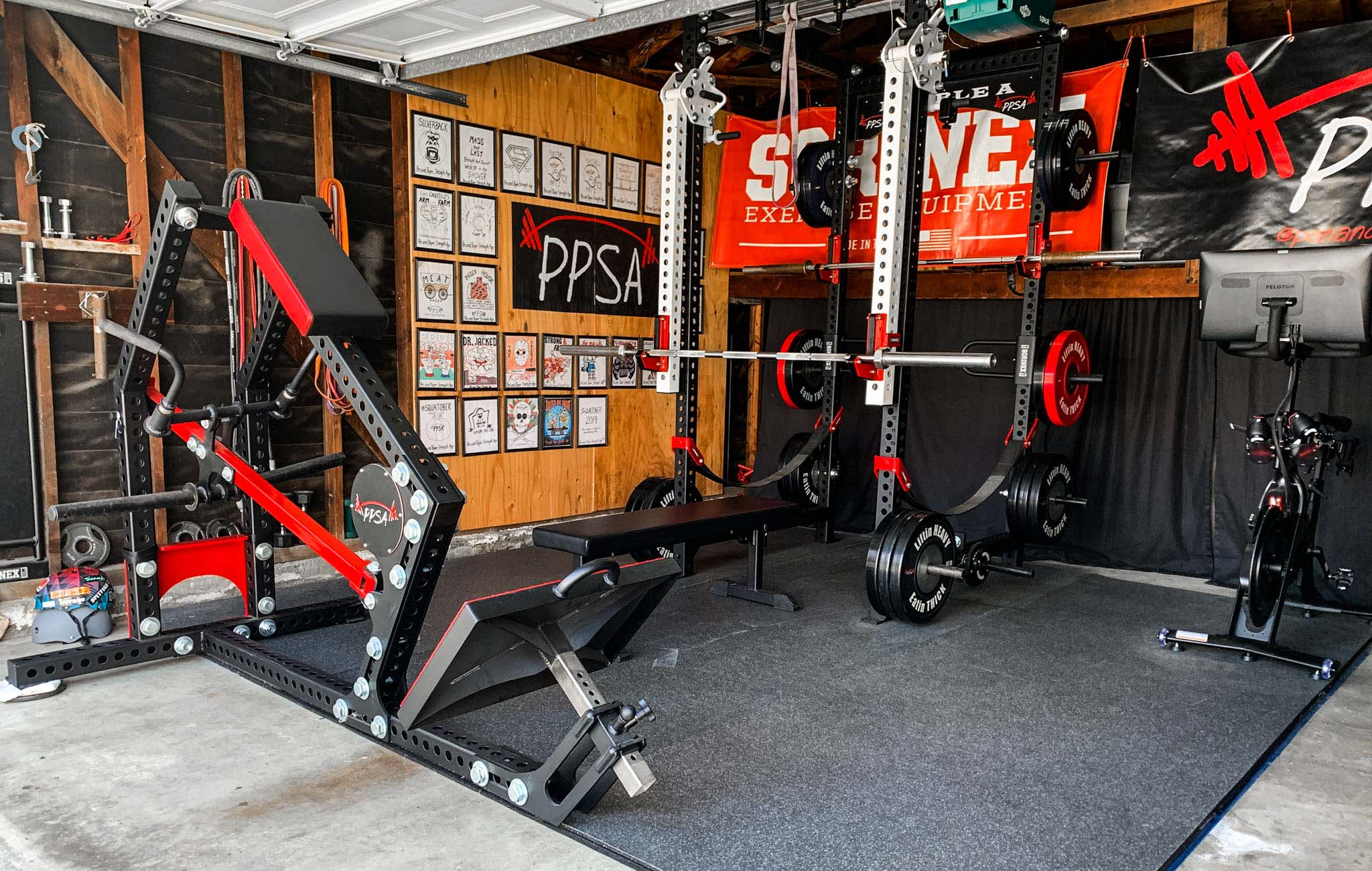 Aaron Ausmus Home Gym