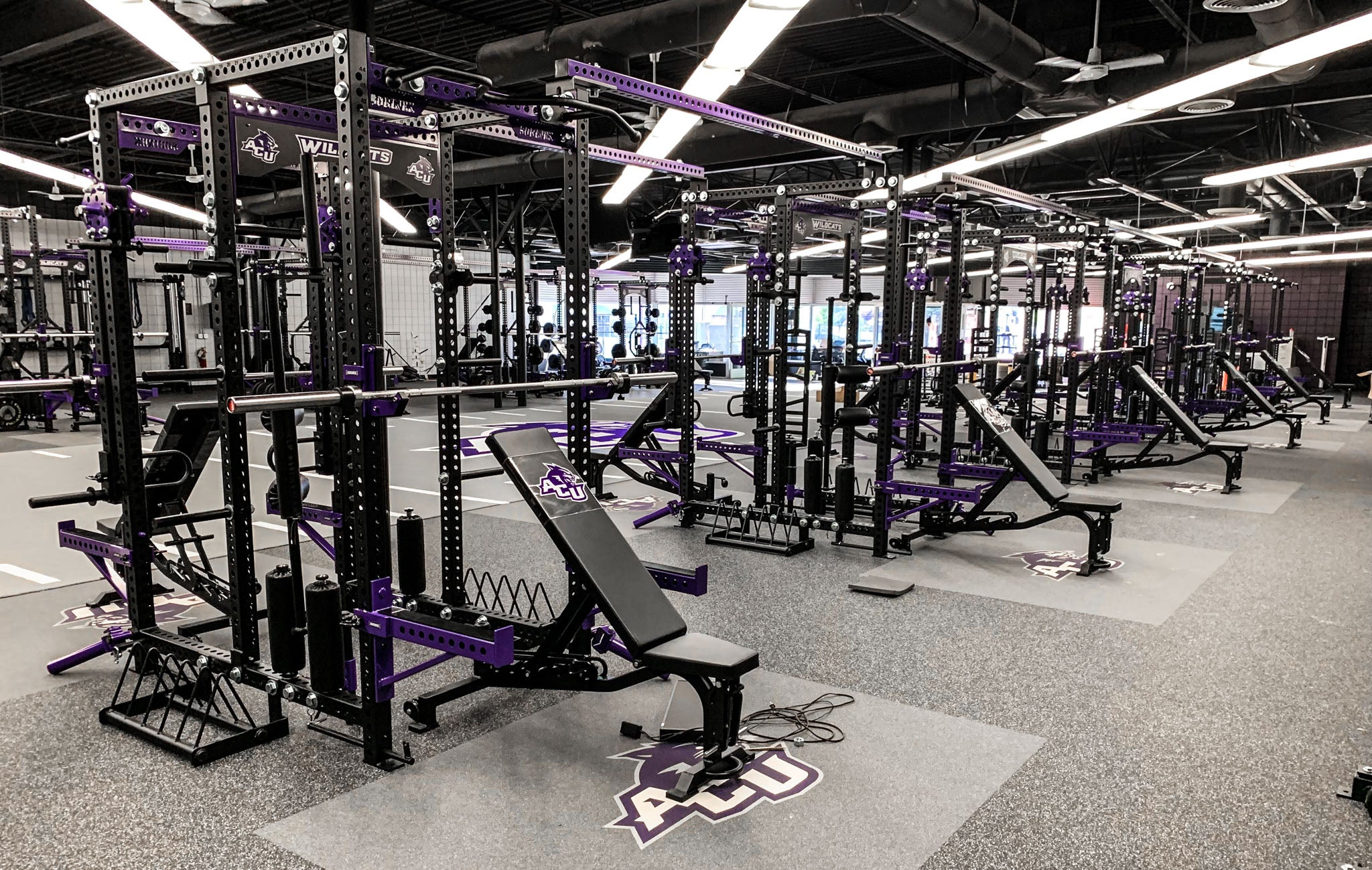 Abilene Christian University Weight Room