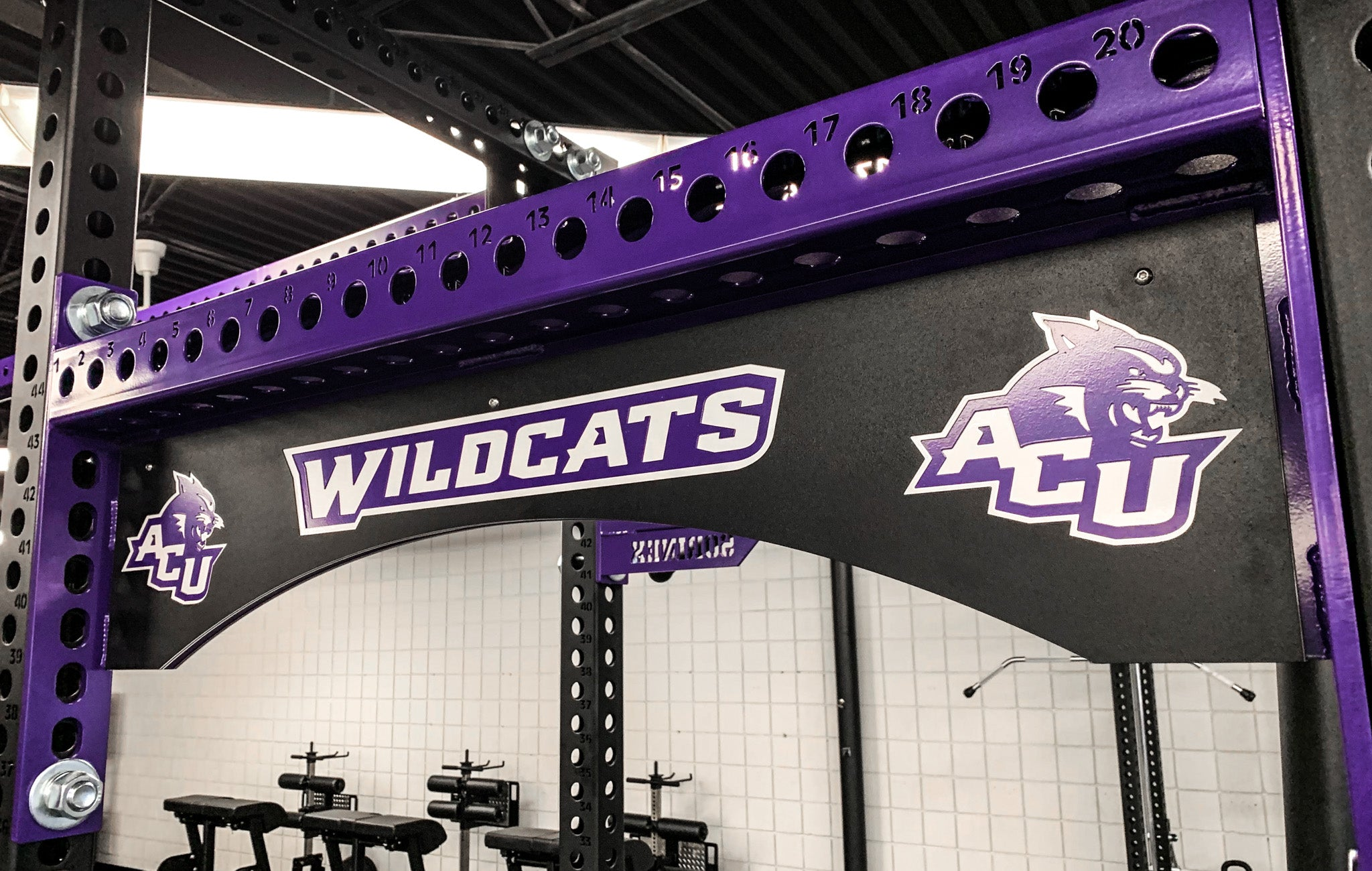 Abilene Christian University Custom Weight Room