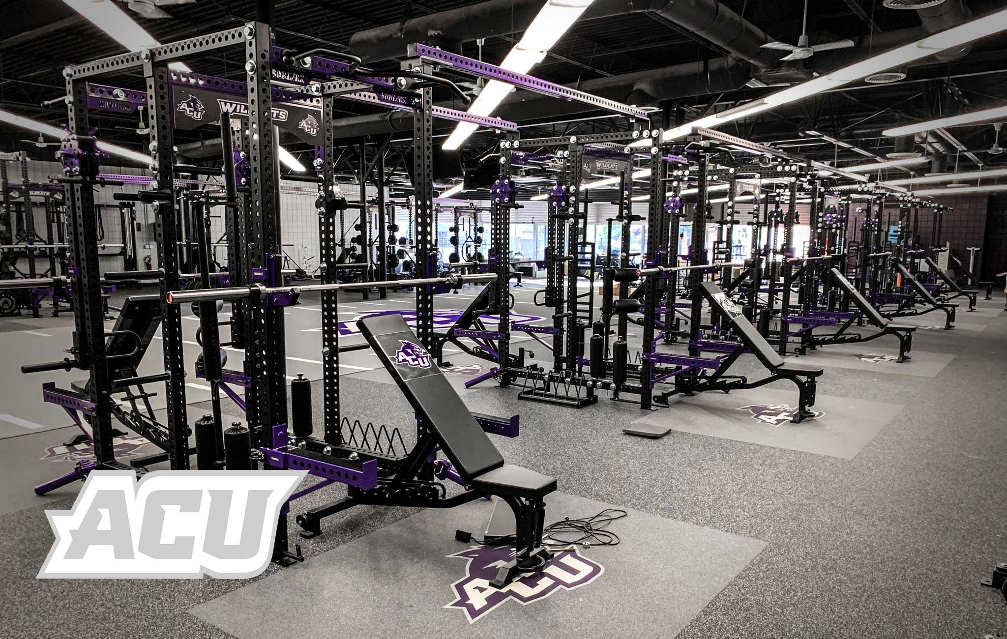 ACU Sorinex strength and conditioning facility